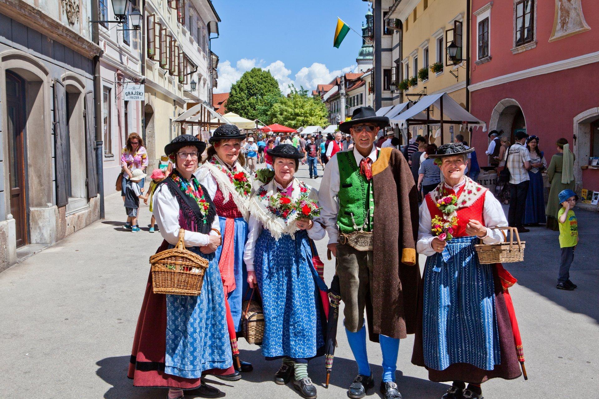 Best time for Historial Škofja Loka in Slovenia 2020
