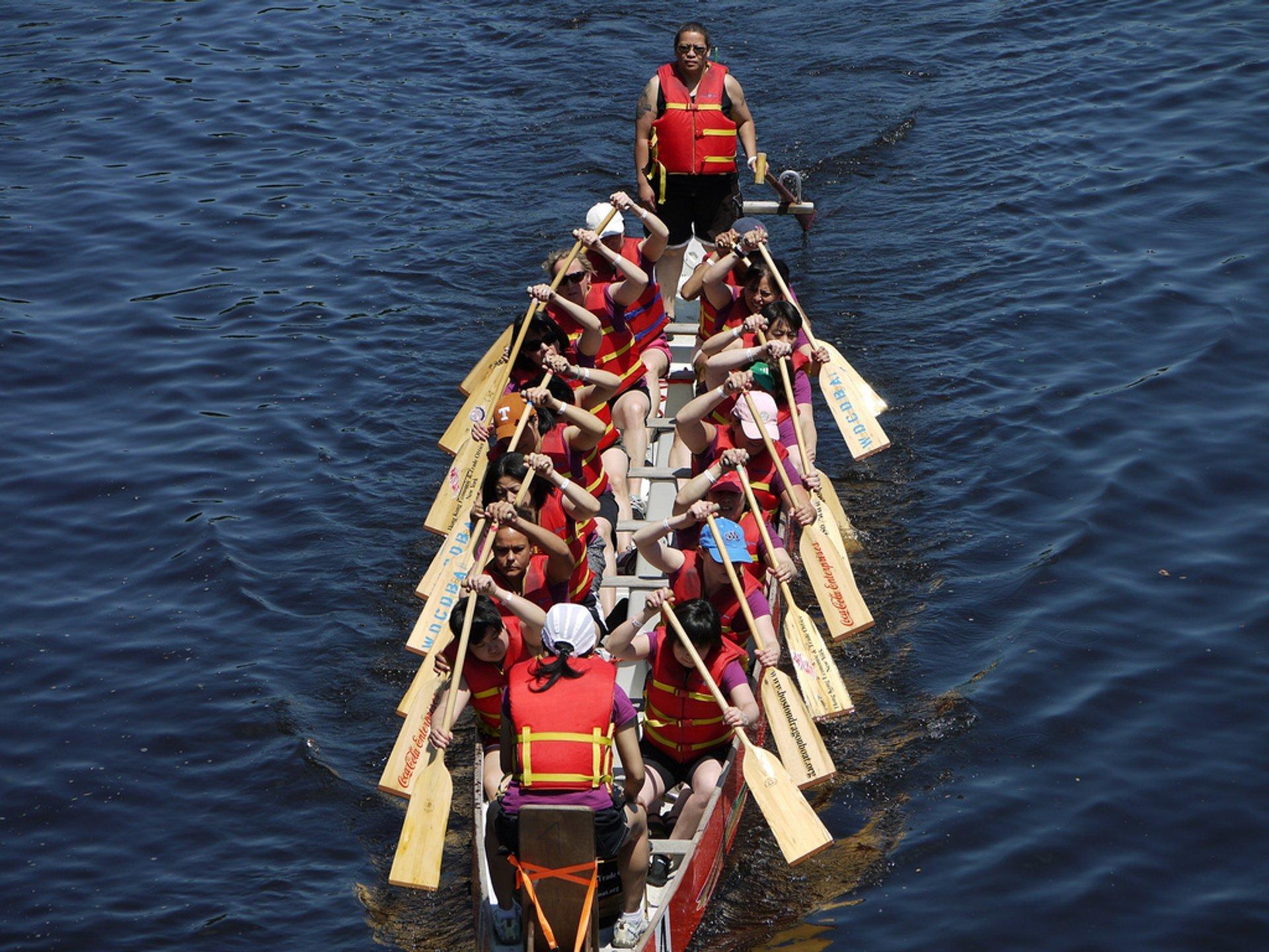 Best time for Boston Dragon Boat Festival in Boston 2019