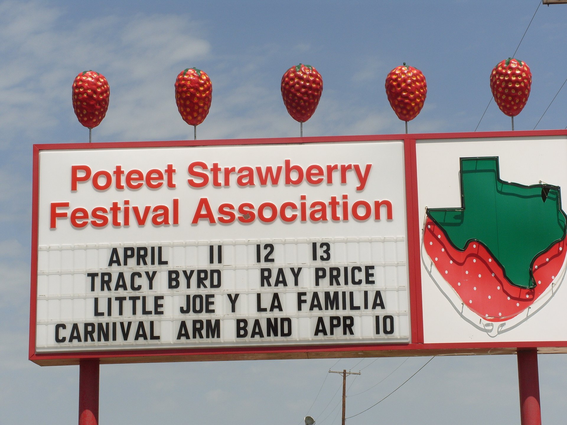 Strawberry Festival 2020 Dates.Poteet Strawberry Festival 2020 In Texas Dates Map