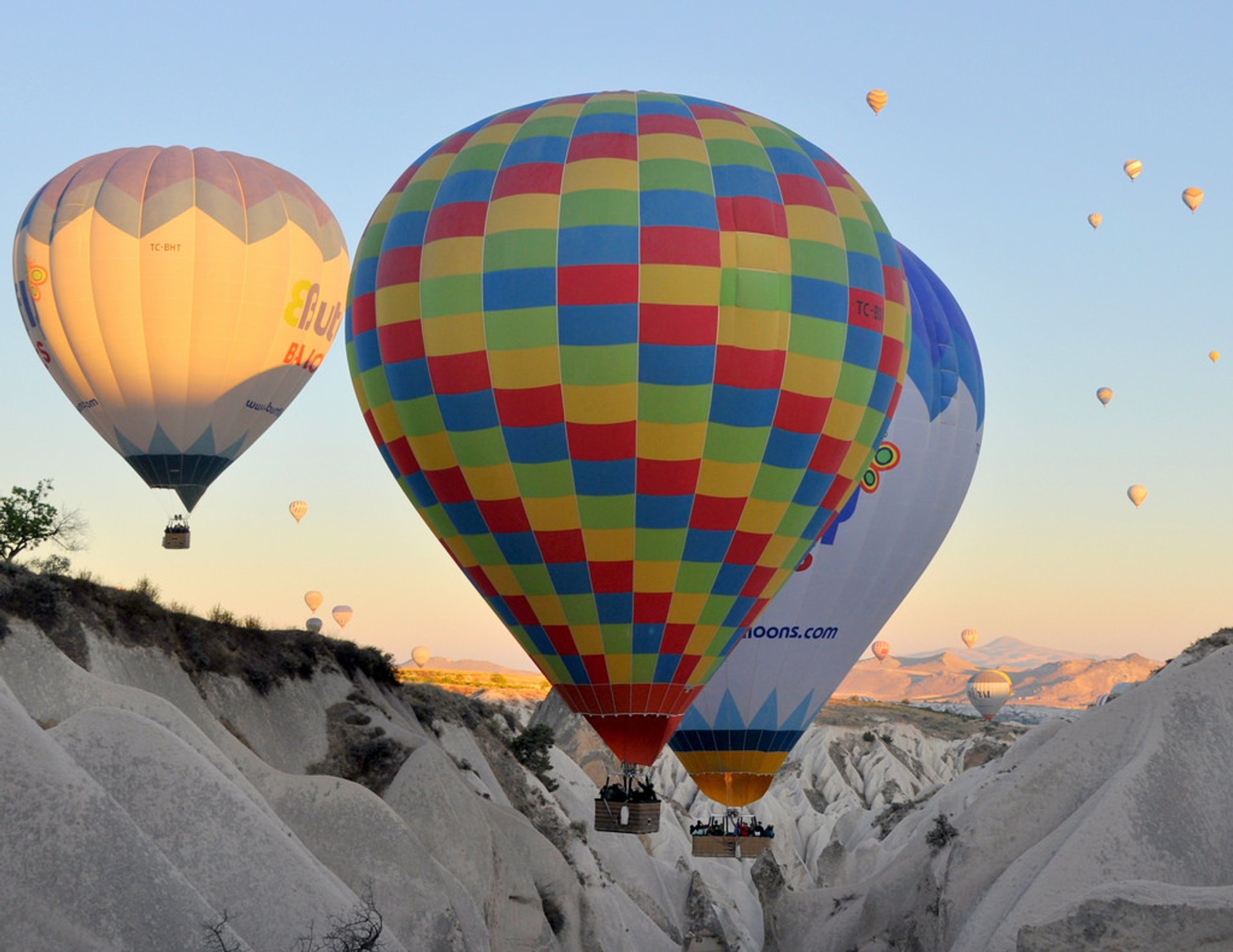 Best time to see Ballooning Сhallenge in Cappadocia 2020