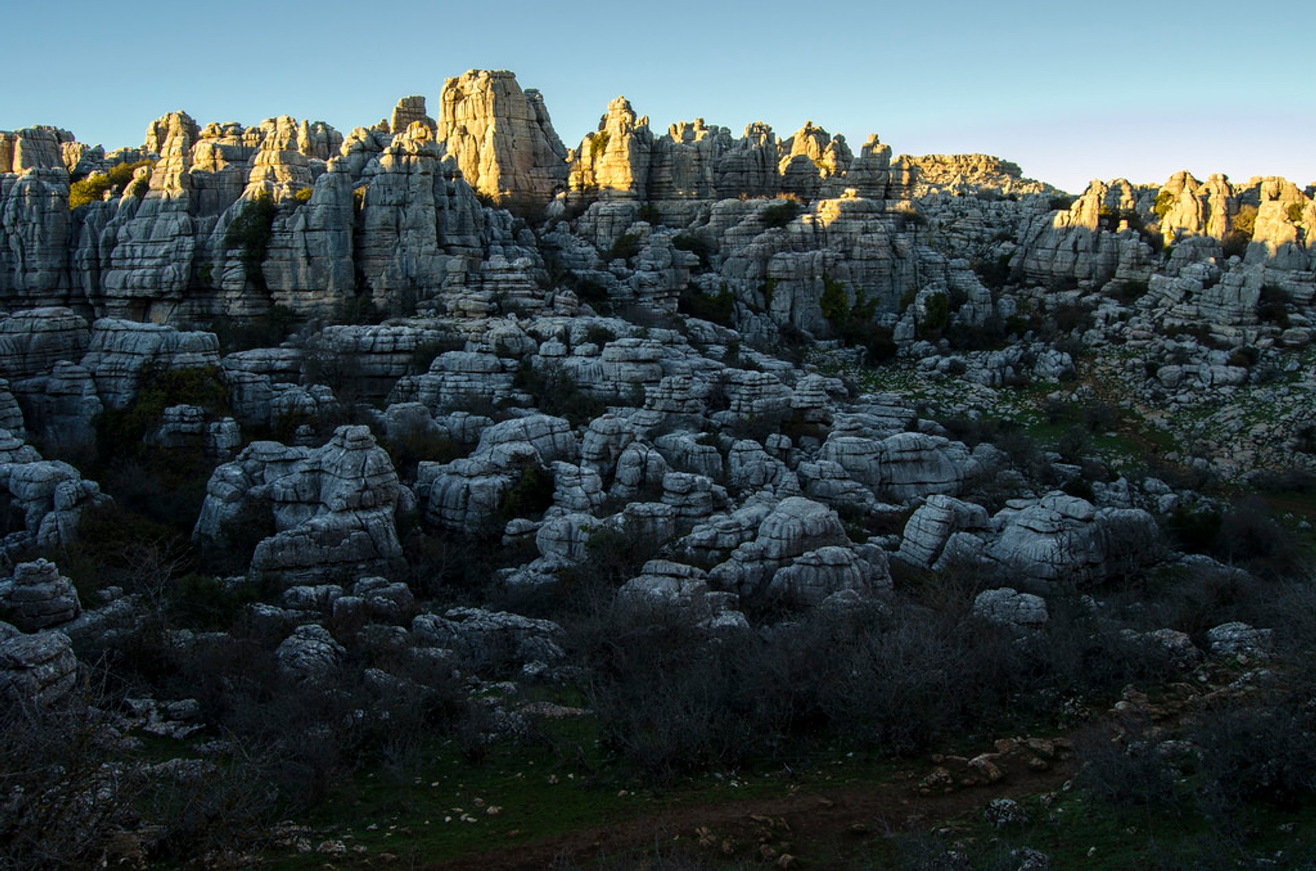 Best time to see El Torcal de Antequera National Park in Spain 2020