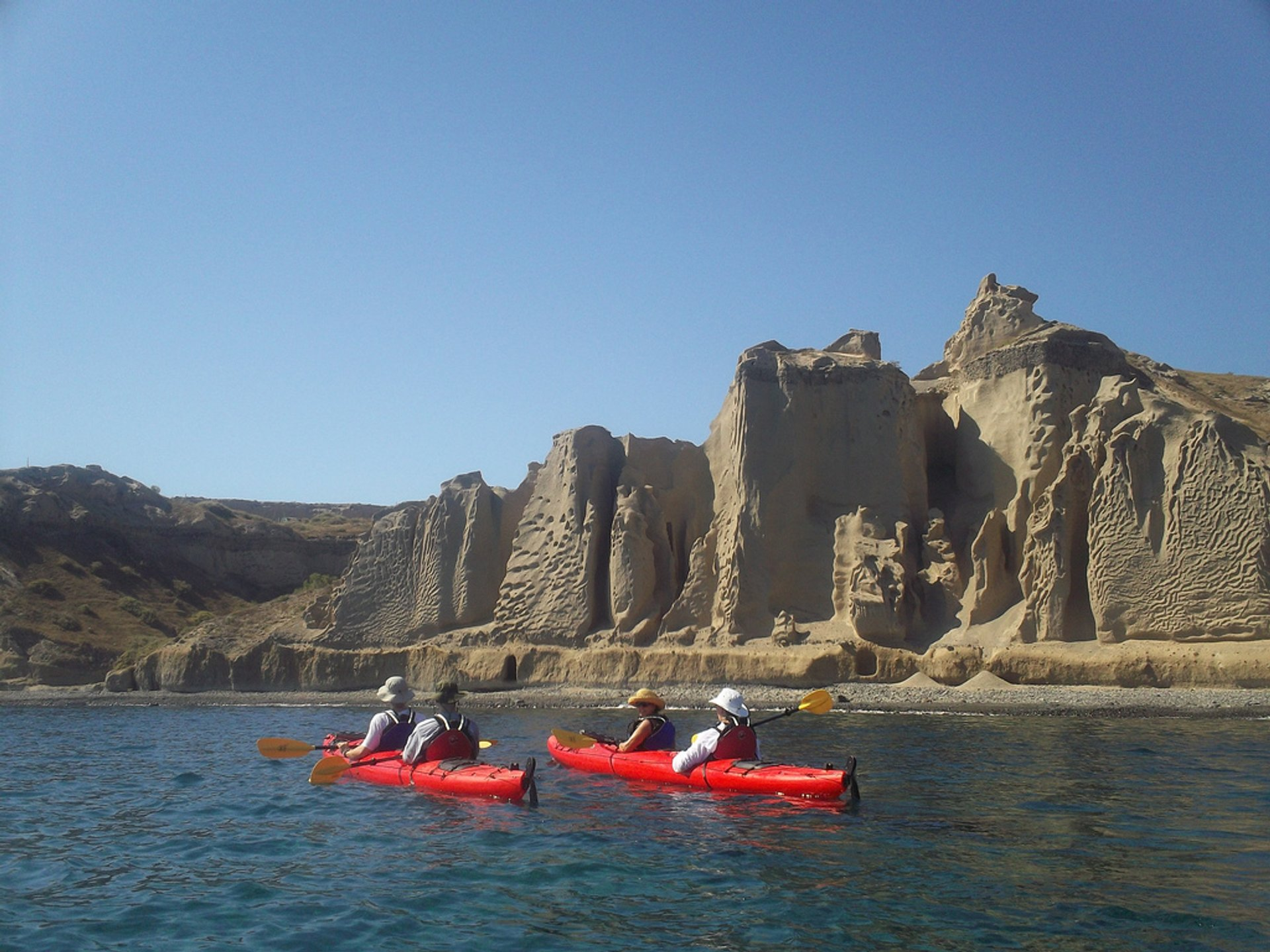 Sea Kayaking in Santorini - Best Season