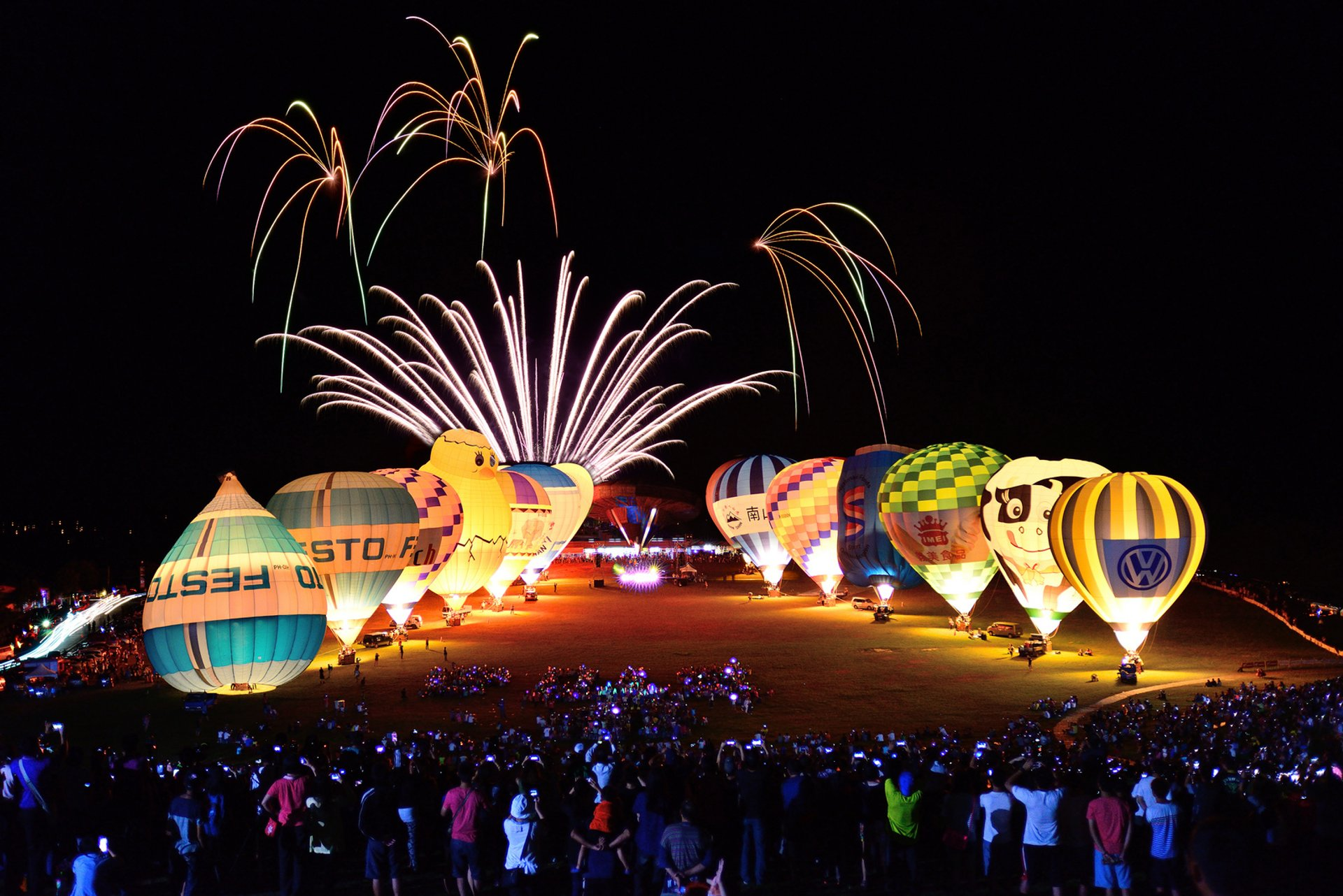 Best time for Taiwan Balloon Festival in Taiwan