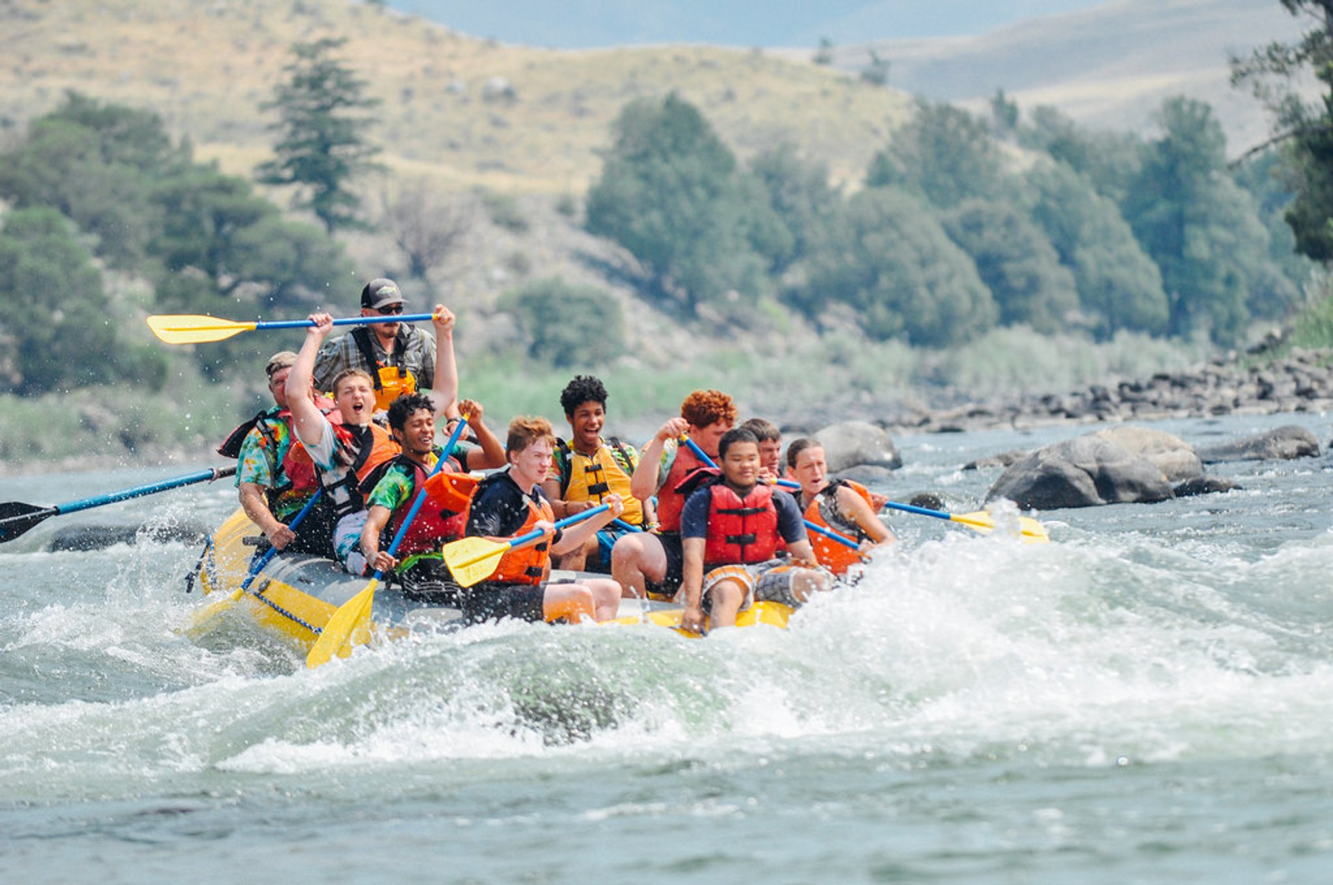 Rafting in Yellowstone National Park 2019 - Best Time