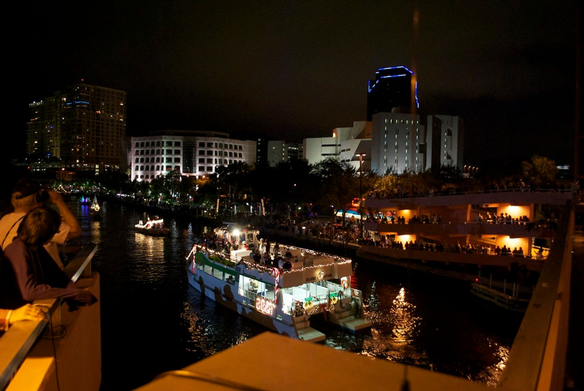 Winterfest Boat Parade in 2010 2020
