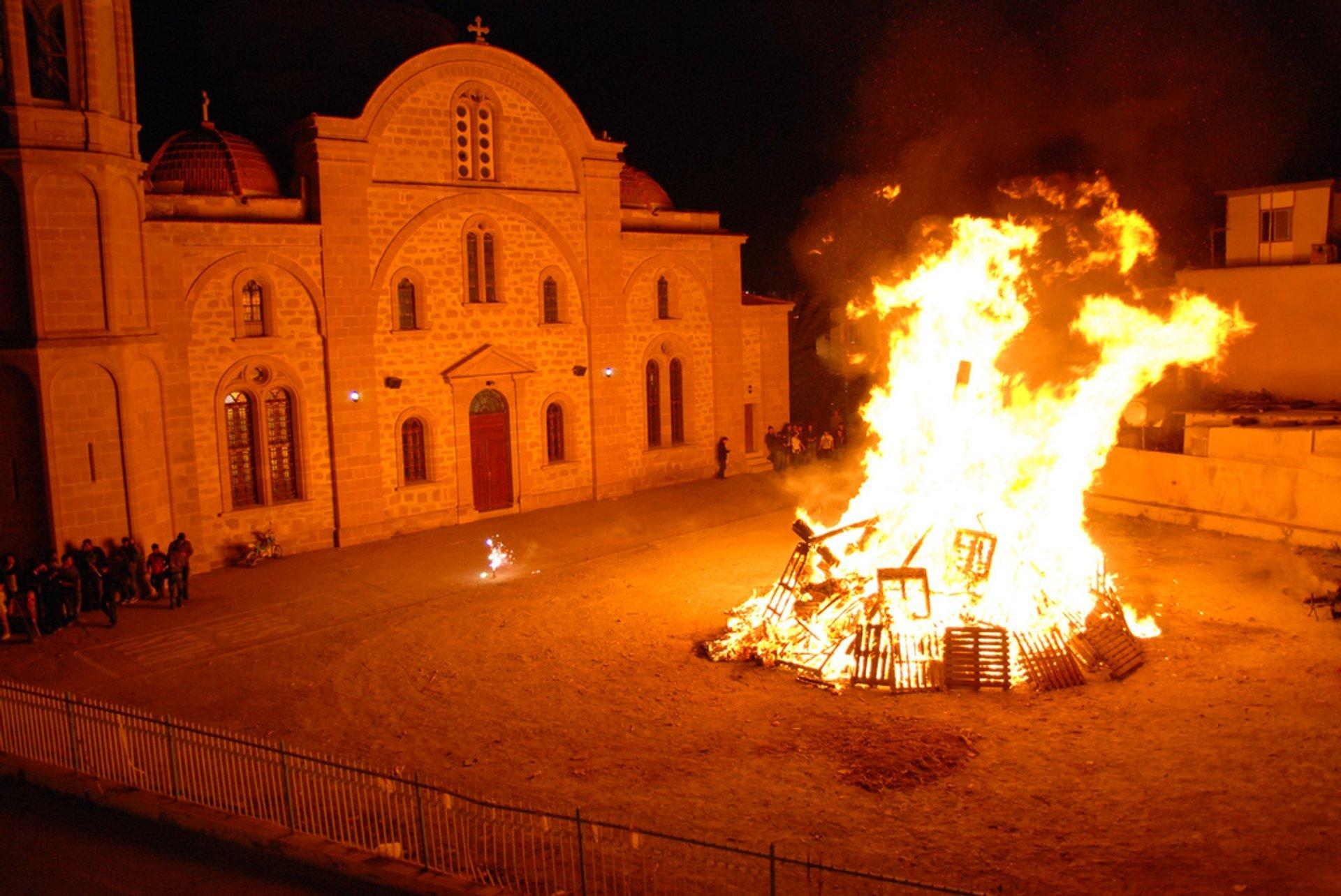 Easter bonfire 2020