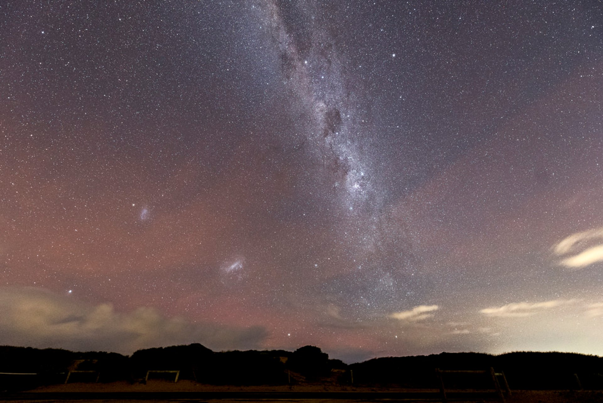 Milky Way and possibly the glow of aurora australis in Connewarre 2020