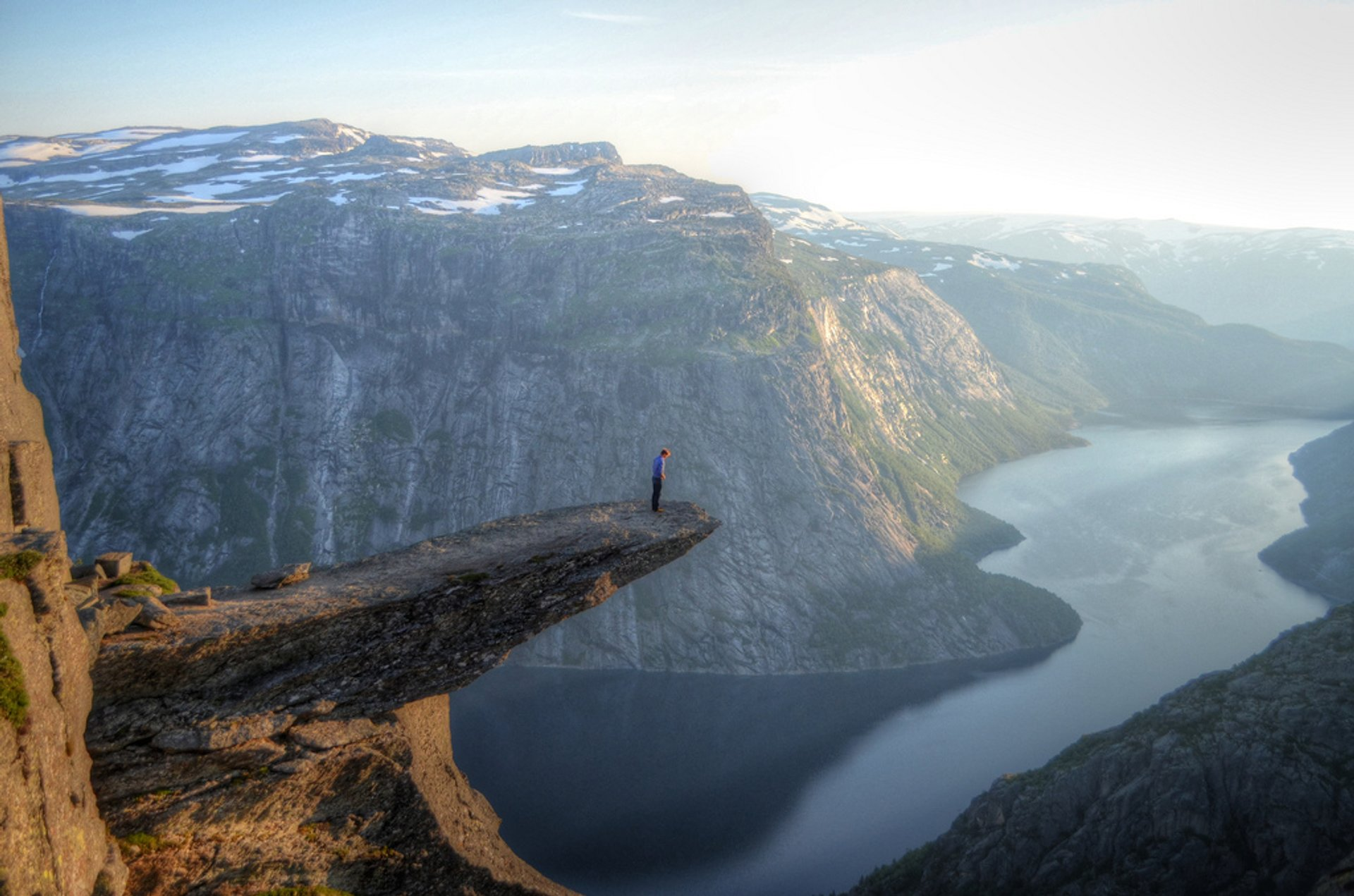 Hiking Trolltunga in Norway - Best Season 2020