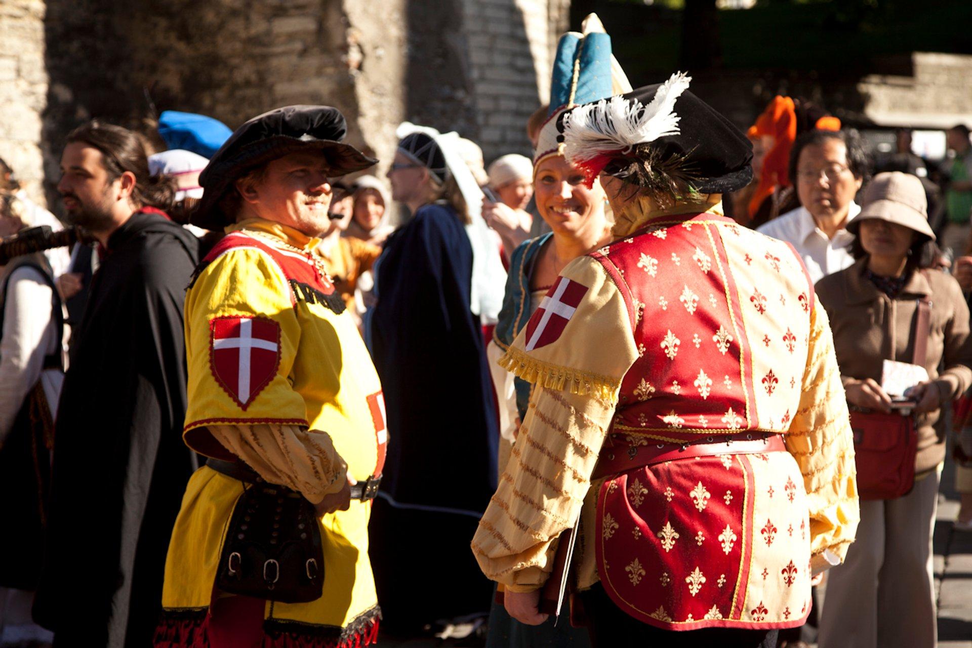 Tallinn Medieval Days in Estonia - Best Season 2020