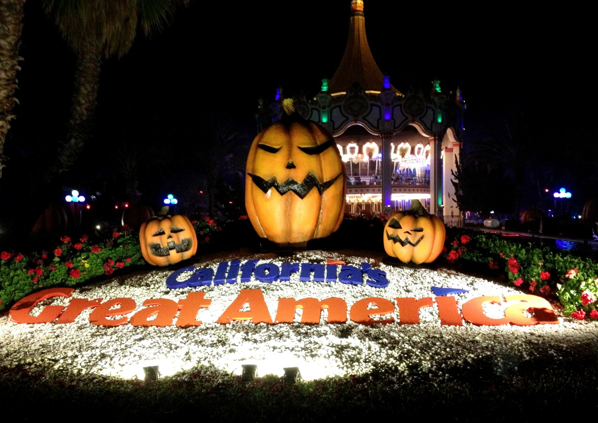California`s Great America Halloween Haunt 2020