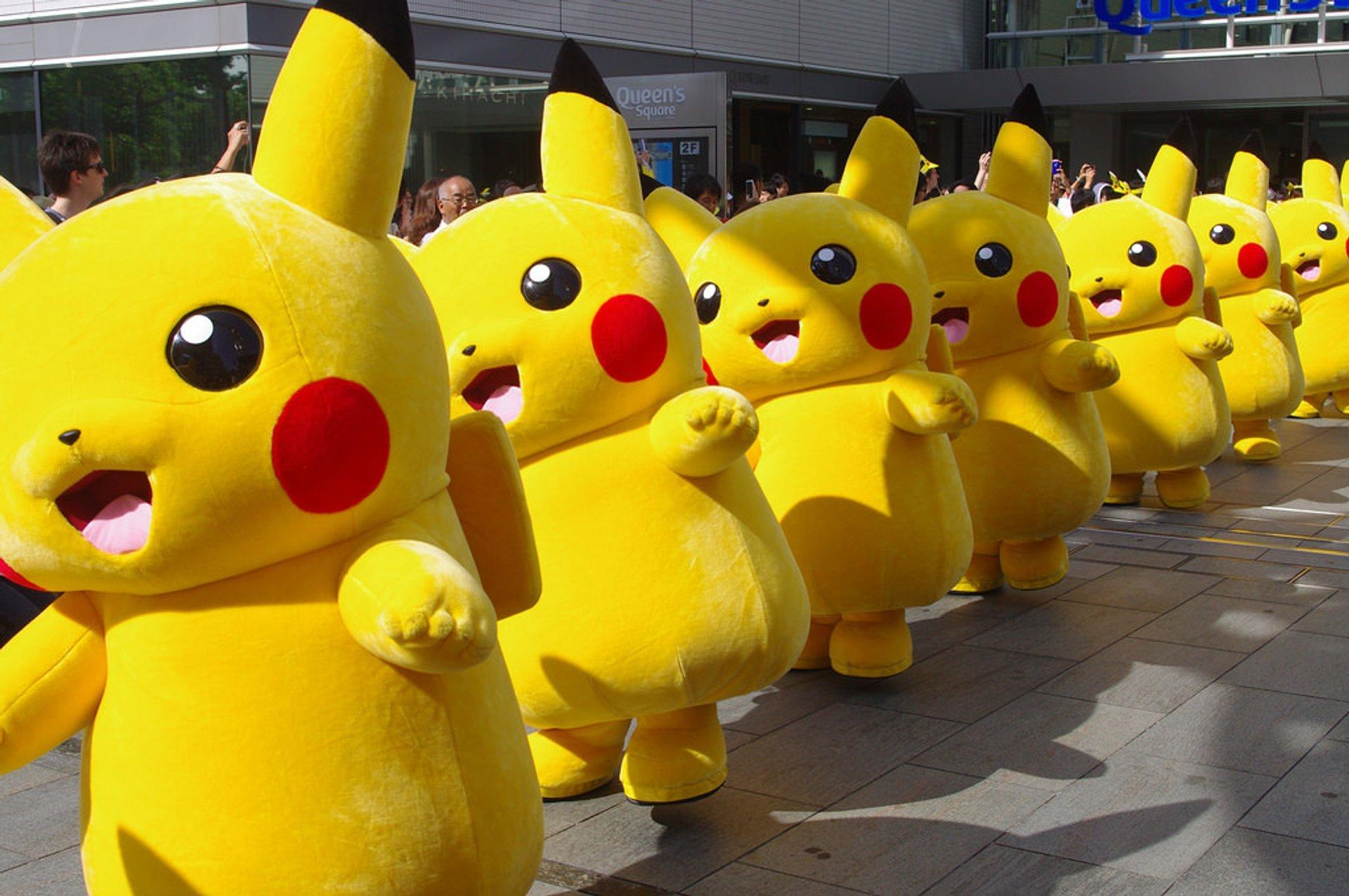 Pikachu Tairyou Hassei-Chu in Japan 2019 - Best Time