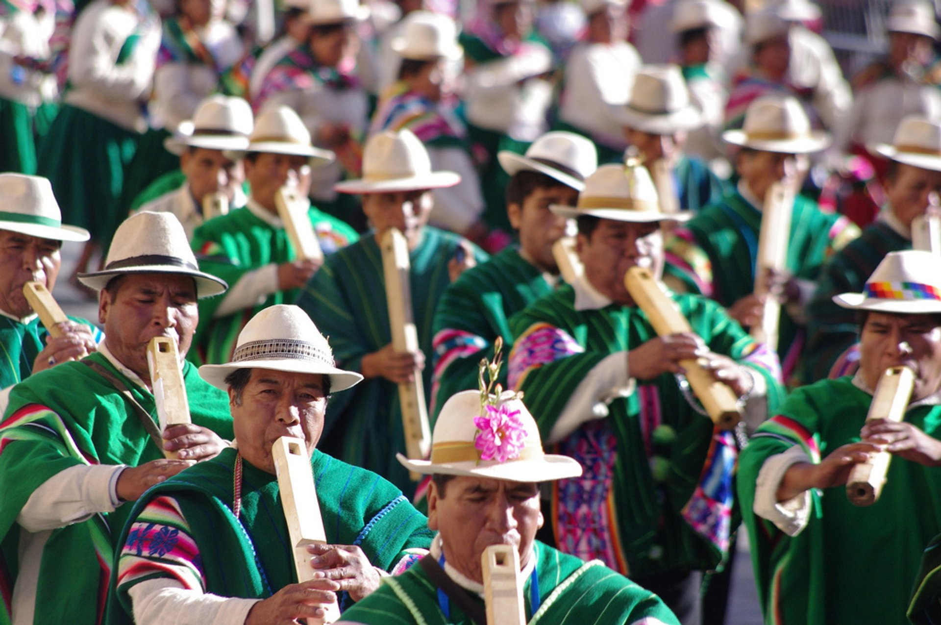 Best time to see Oruro Carnaval