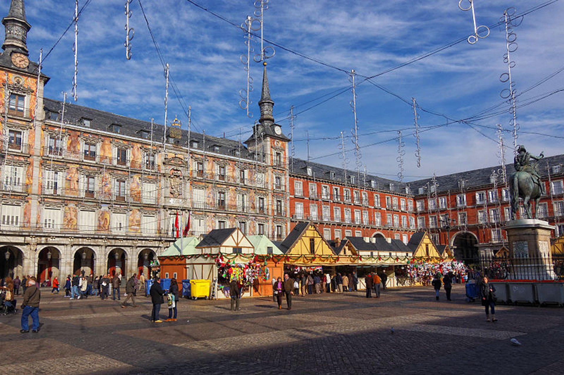 Best time for Christmas (Navidad) in Madrid 2019