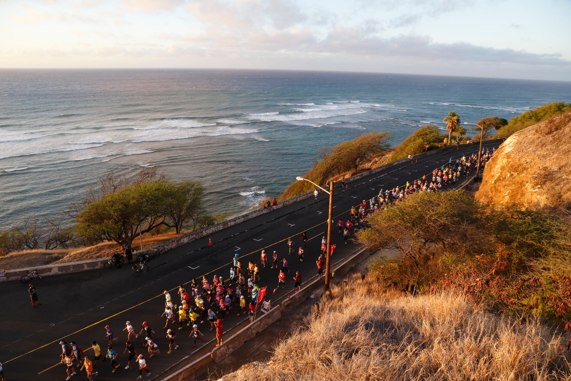 Best time for Honolulu Marathon 2019