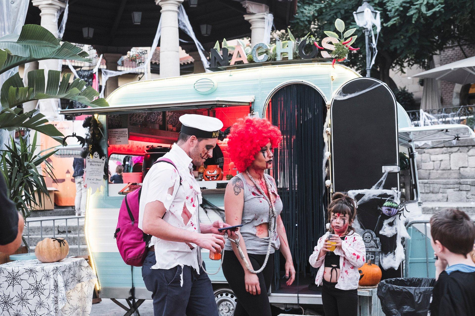 Halloween at Poble Espanyol Barcelona 2020