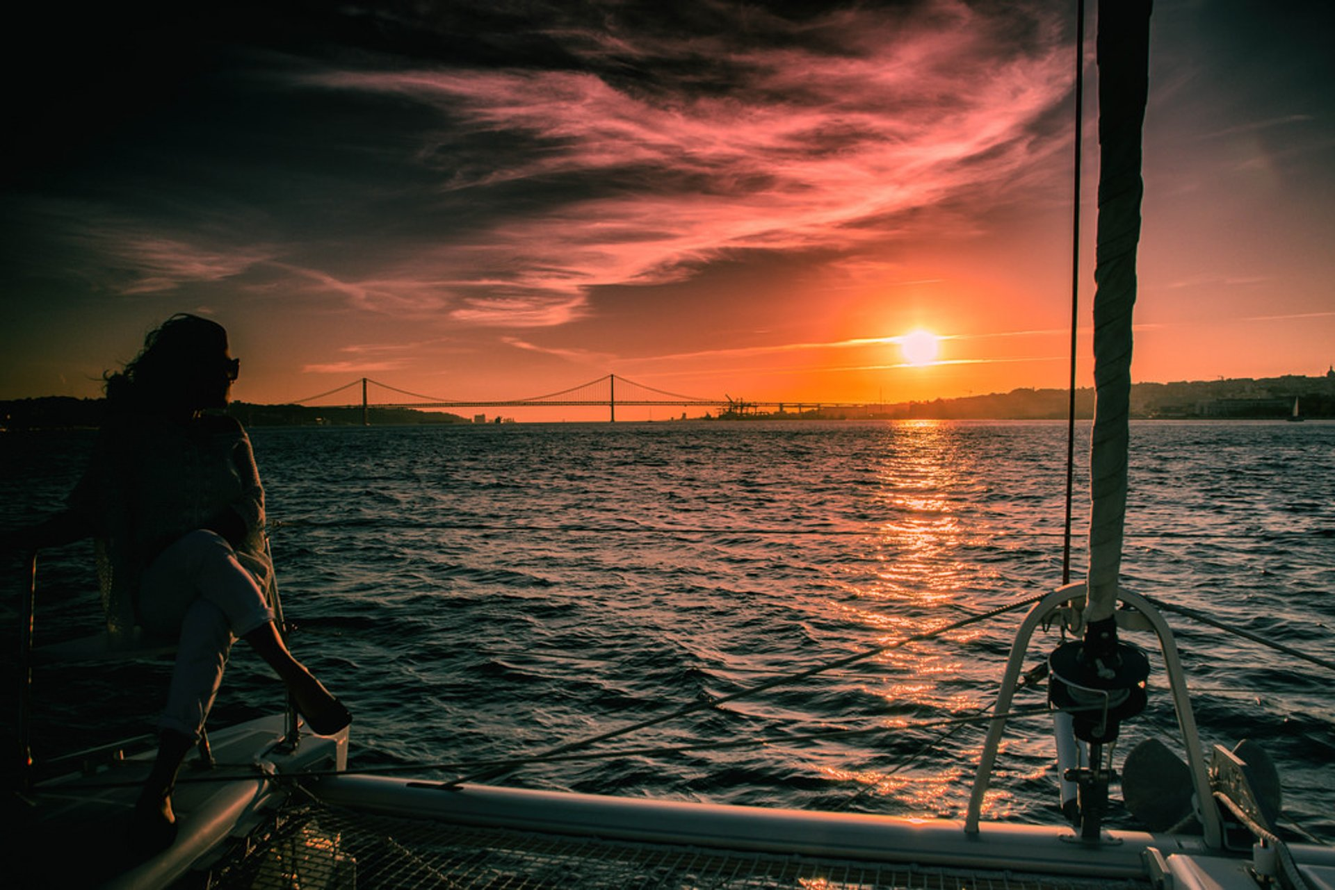 Best time for Tagus River Sunset Cruise in Lisbon 2019