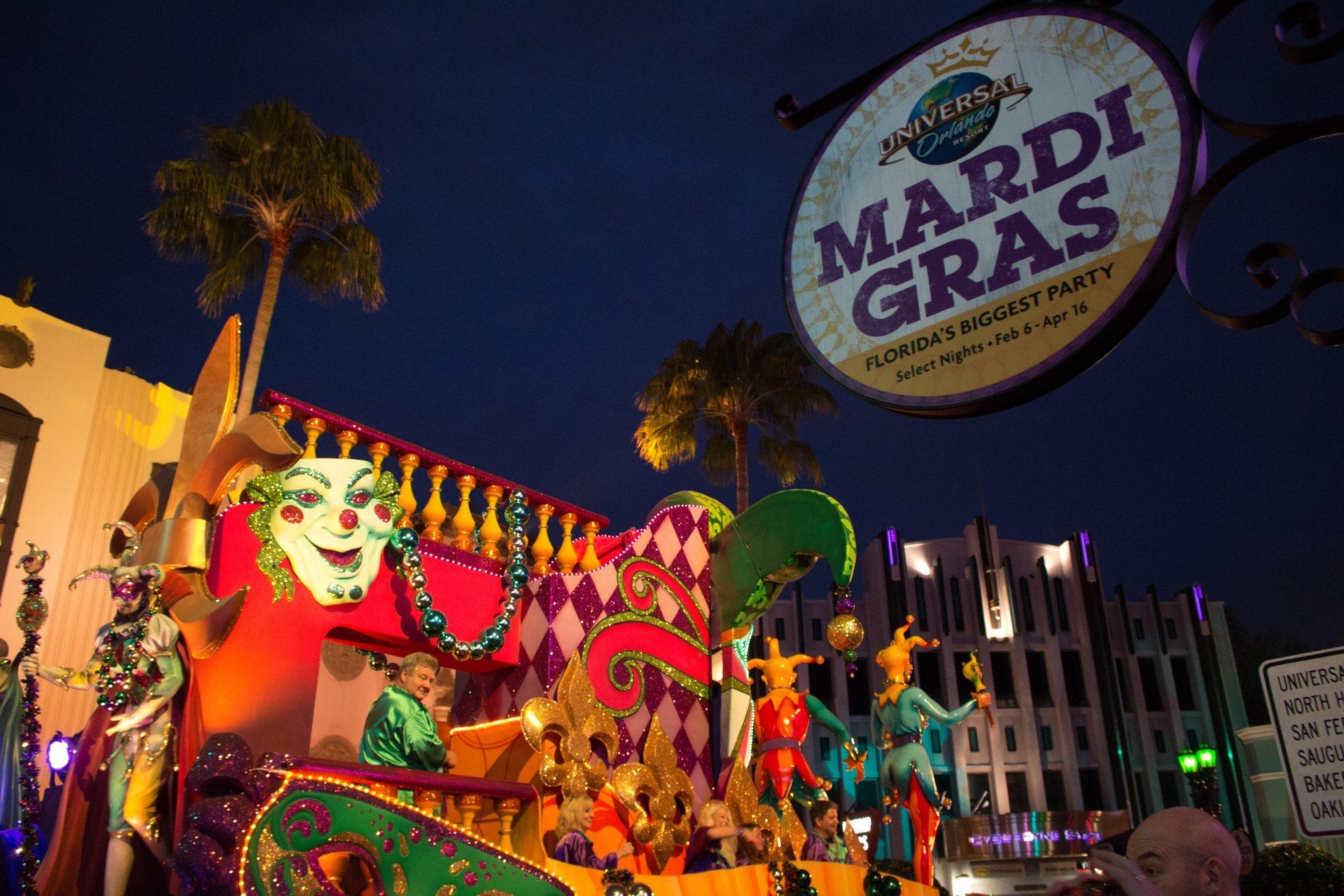 Universal Orlando Mardi Gras in Orlando 2020 - Best Time