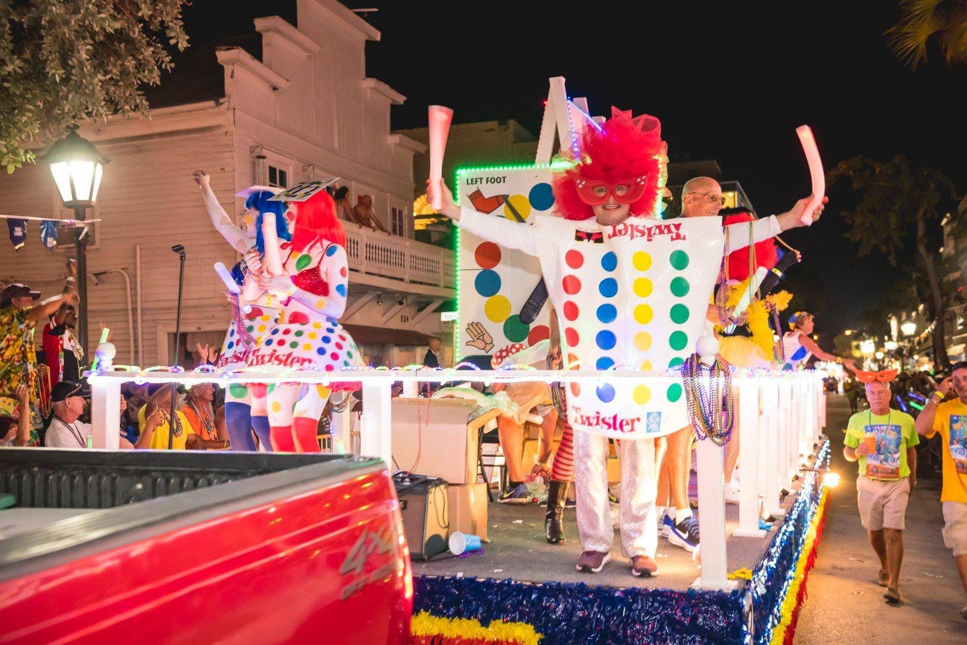 Best time for Fantasy Fest in Key West & Florida Keys 2020