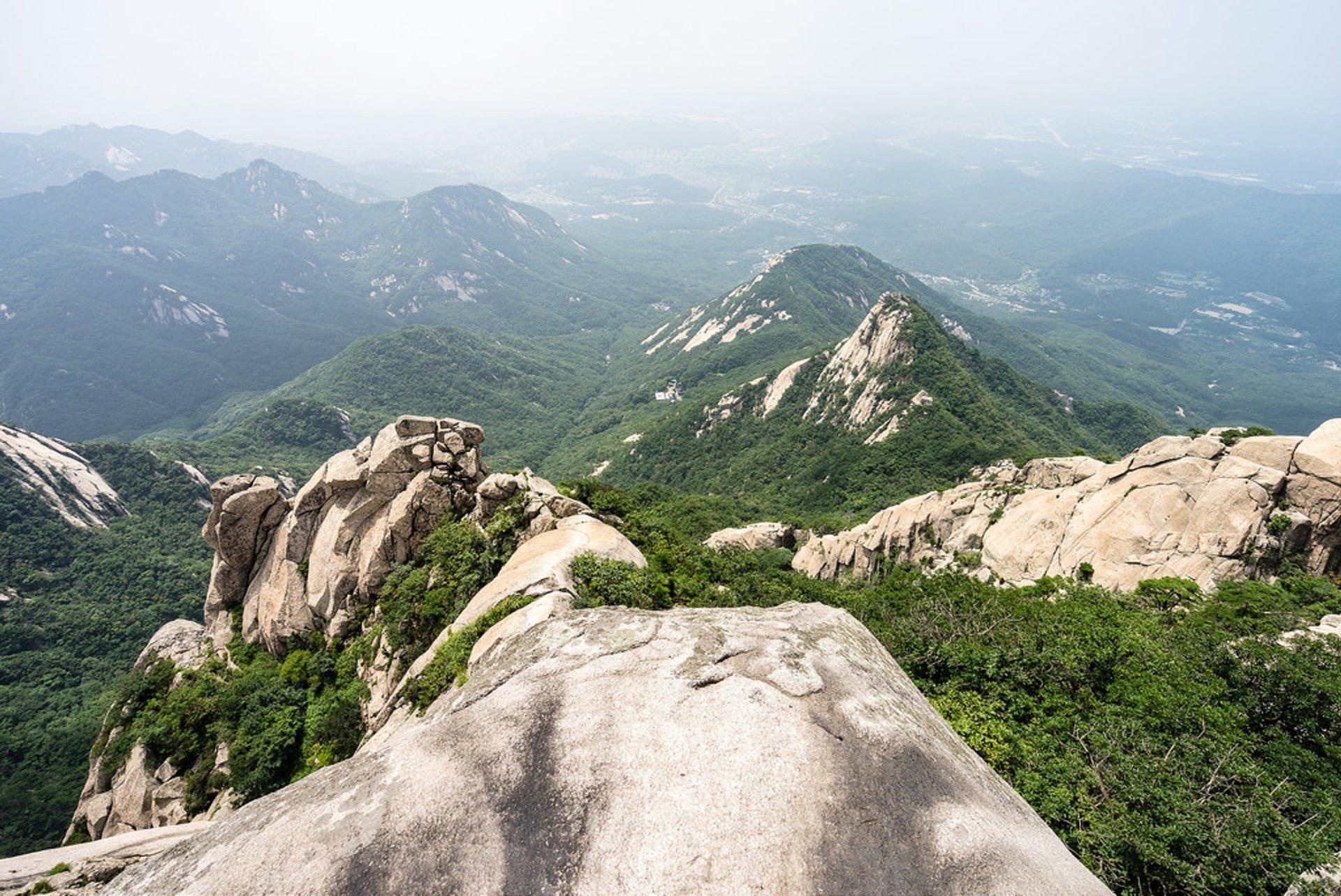 Baegundae Peak, Bukhansan National Park 2020