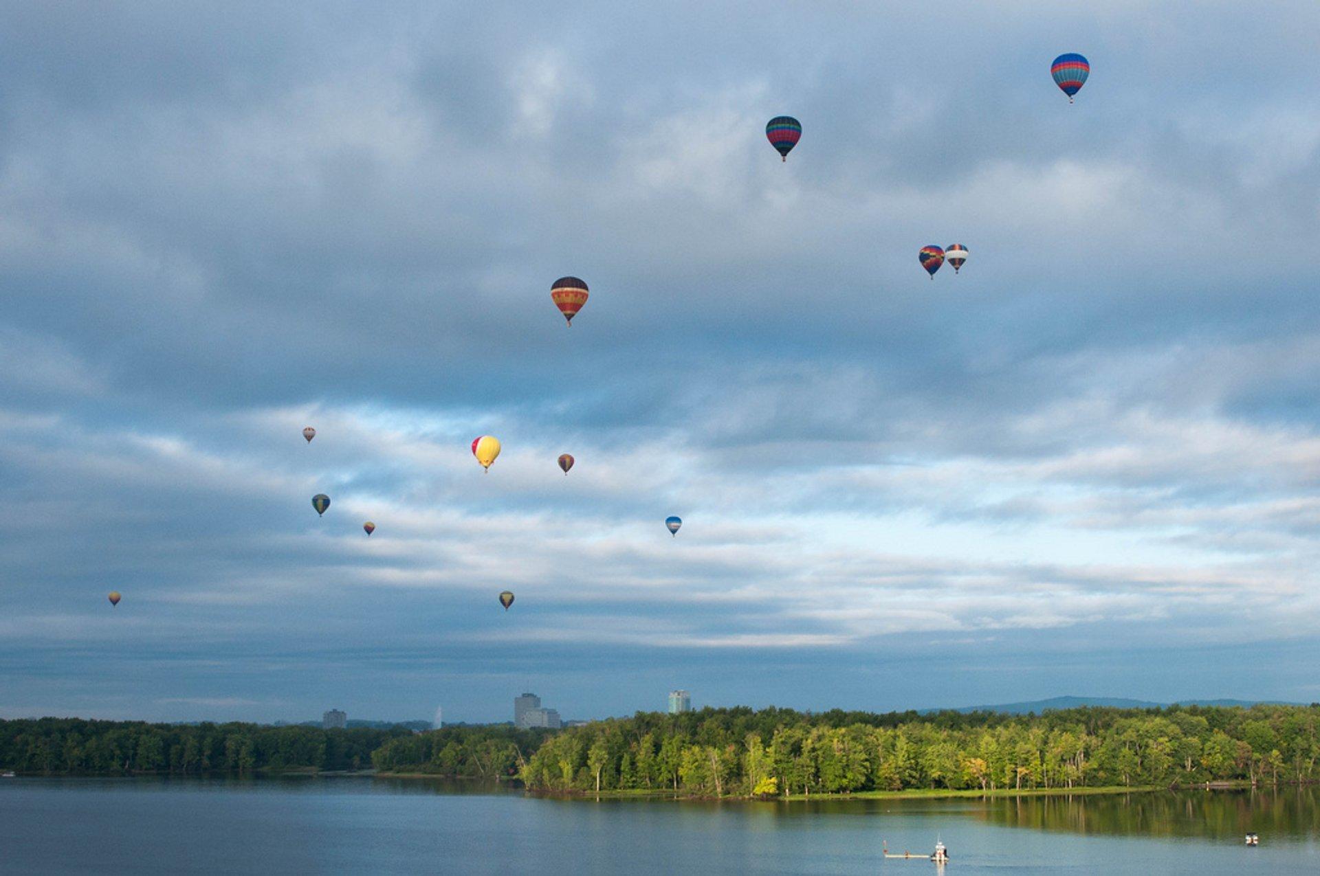 Best time for Gatineau Hot Air Balloon Festival in Ottawa 2019