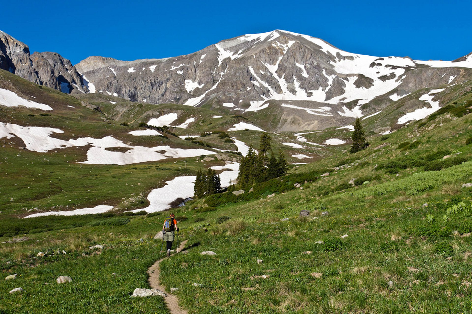 Hiking the Colorado Trail in Colorado - Best Time