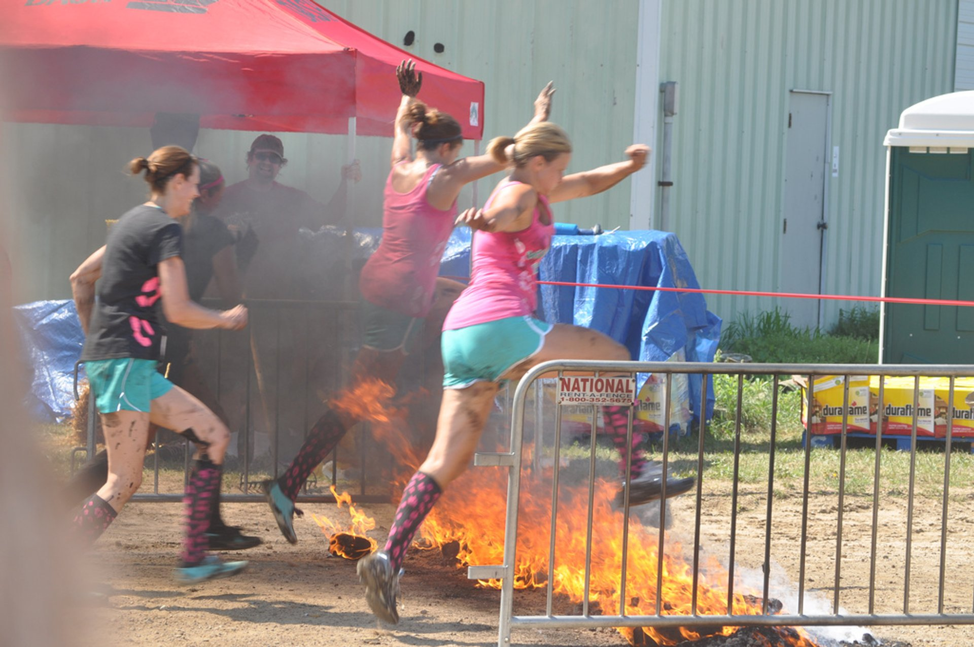Best time for Warrior Dash Michigan in Midwest 2020