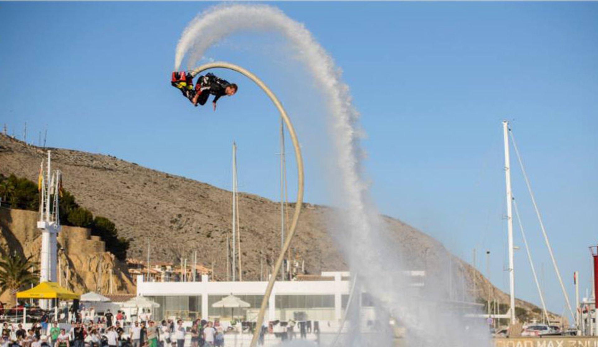 Flyboarding with Dreamboats in Ibiza - Best Season 2020