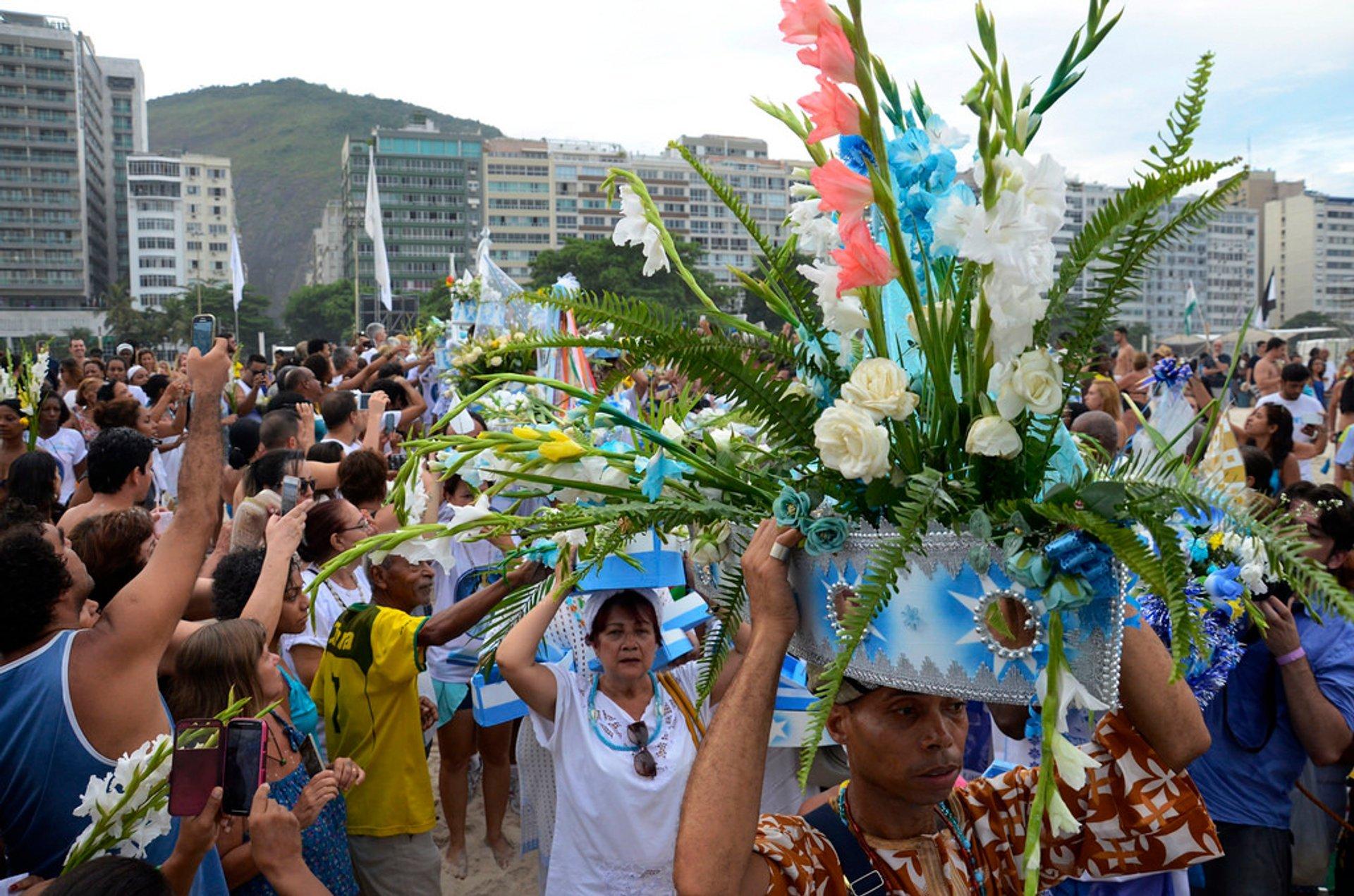 Best time for Festa da Iemanjá in Rio de Janeiro 2020