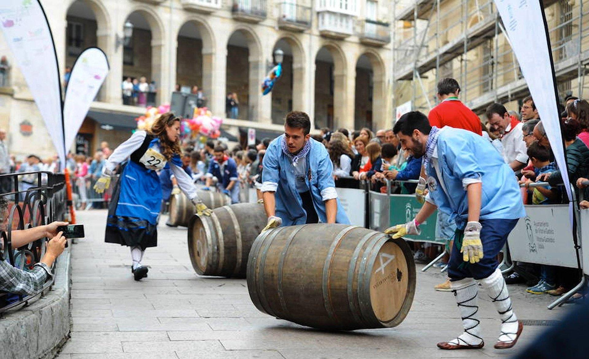Best time for Fiestas de La Blanca & Celedón, Vitoria-Gasteiz in Basque Country 2019