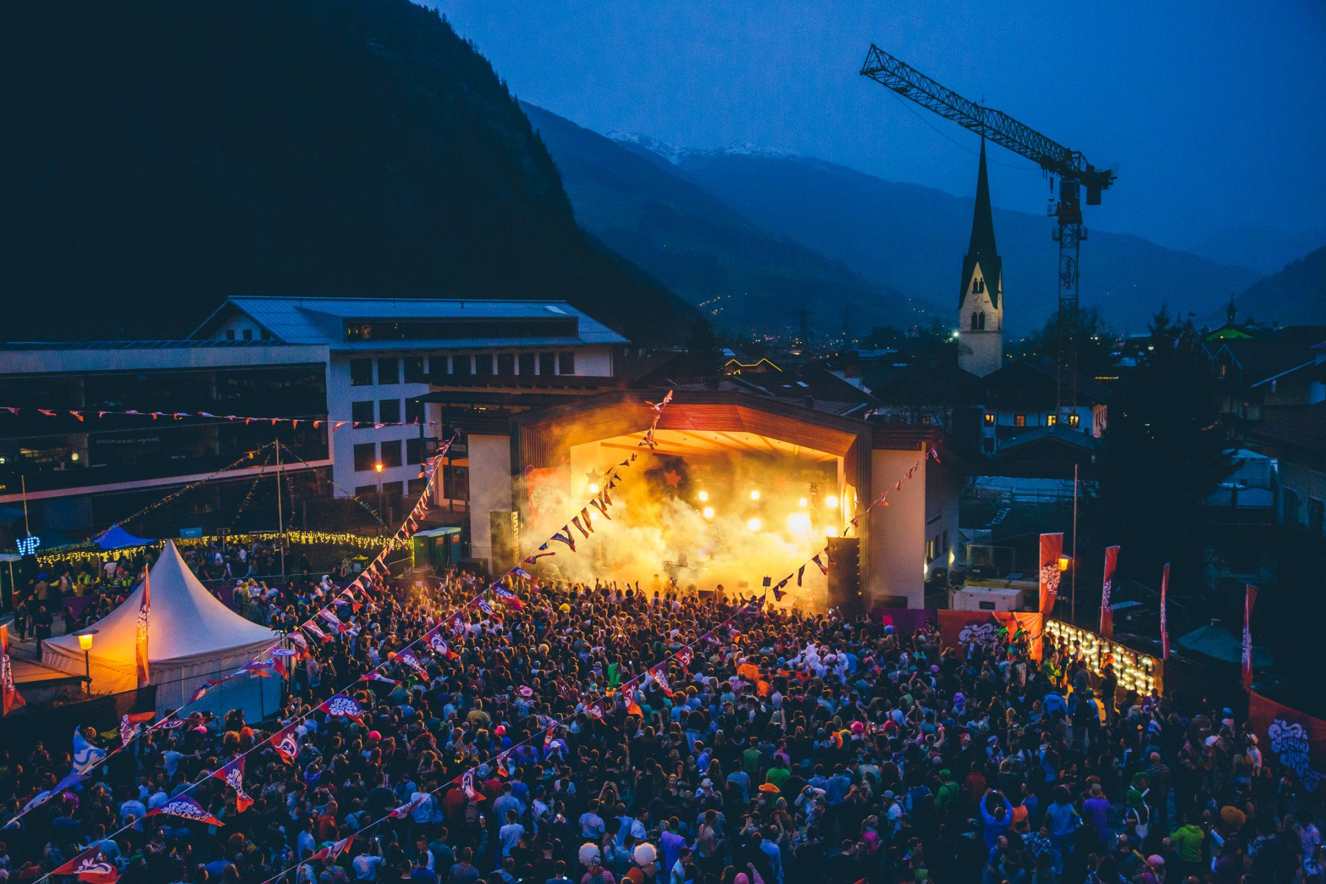 Snowbombing Music Festival in Mayrhofen in Austria 2020 - Best Time