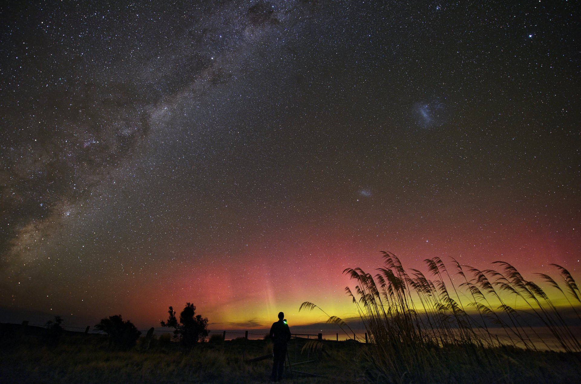 Aurora Australis in New Zealand - Best Season 2020