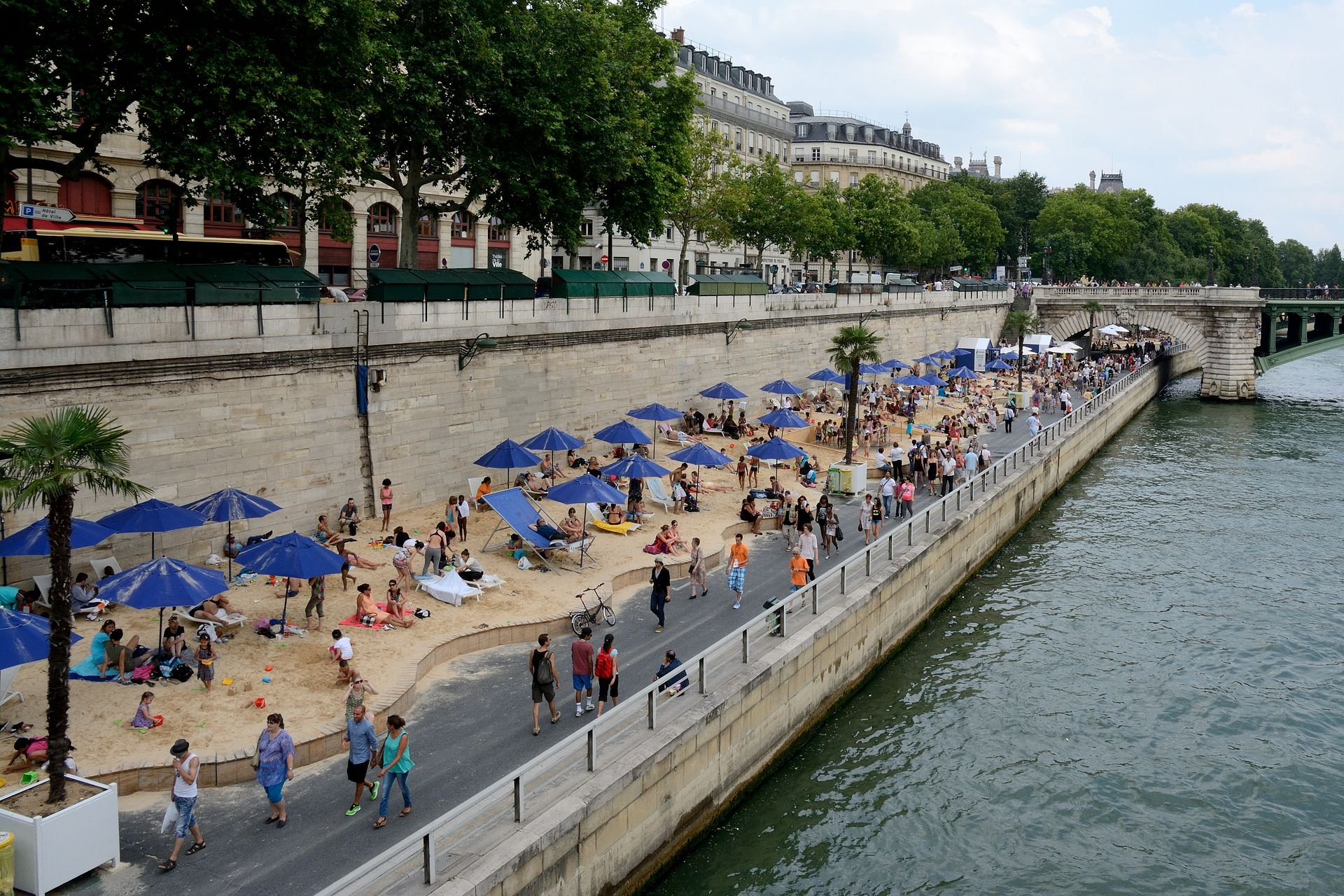 Beaches on the Seine or Paris Plages in Paris 2020 - Best Time