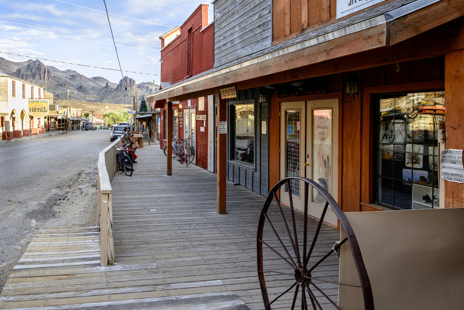 Oatman Ghost Town in Arizona - Best Season 2020