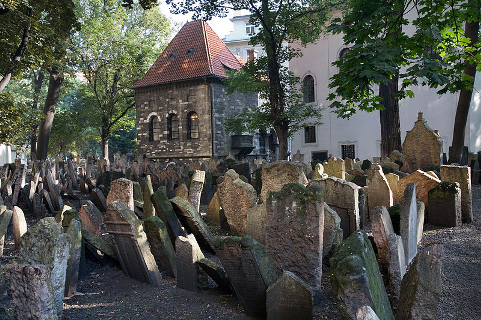 Best time for Old Jewish Cemetery in Prague 2020