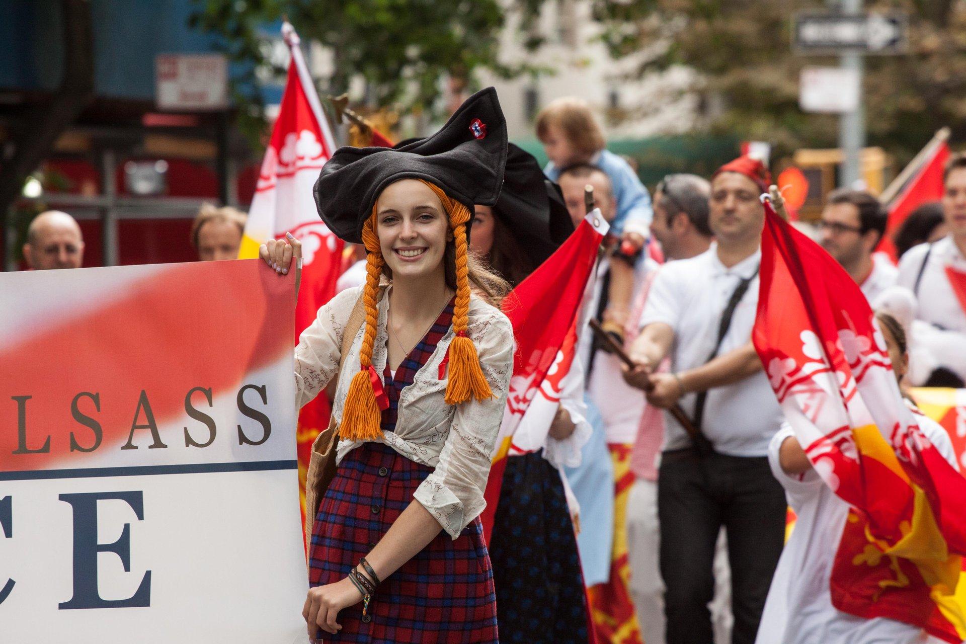 German-American Steuben Parade in New York 2020 - Best Time