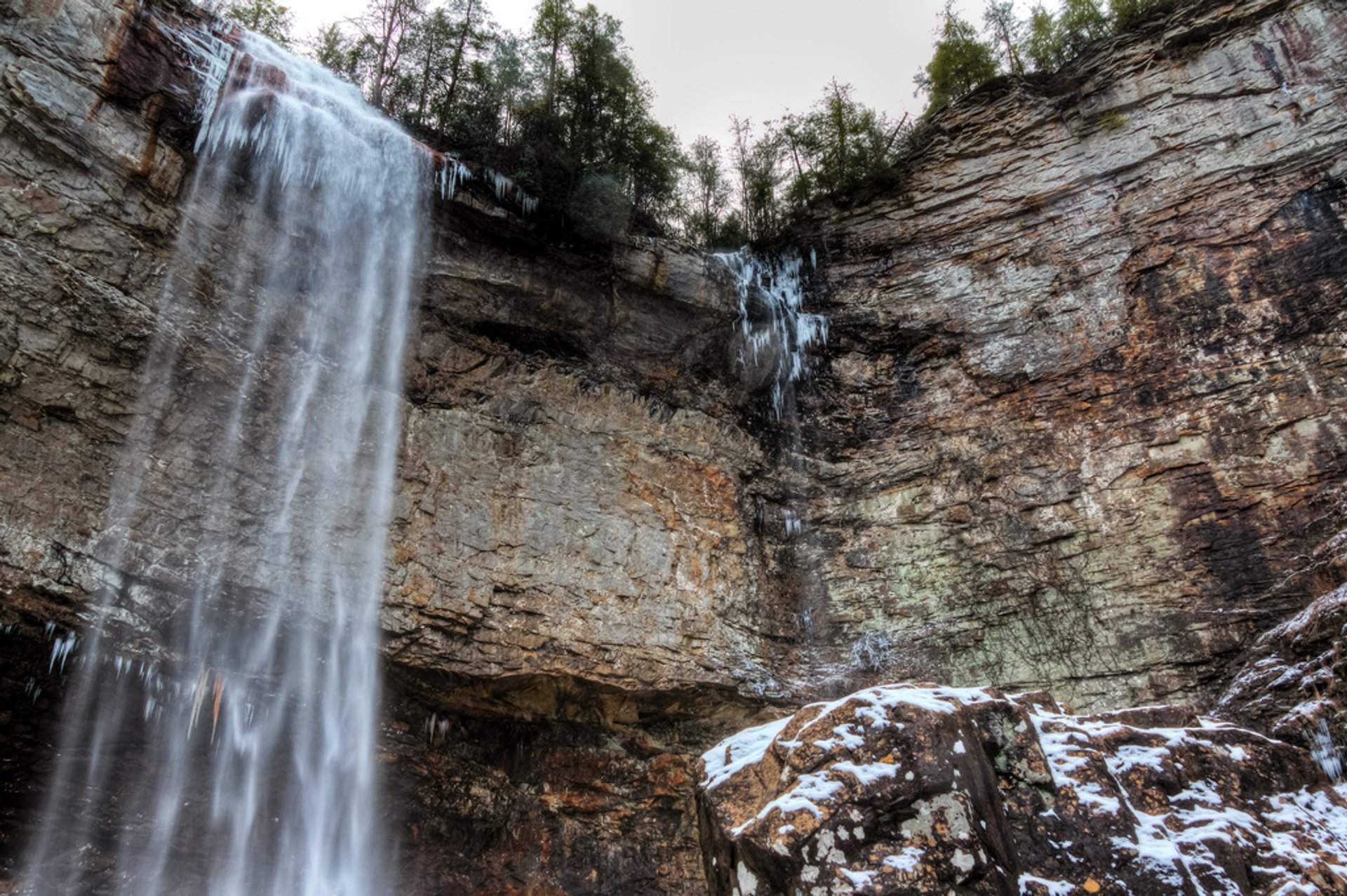 Best time for Fall Creek Falls State Park in Tennessee 2019