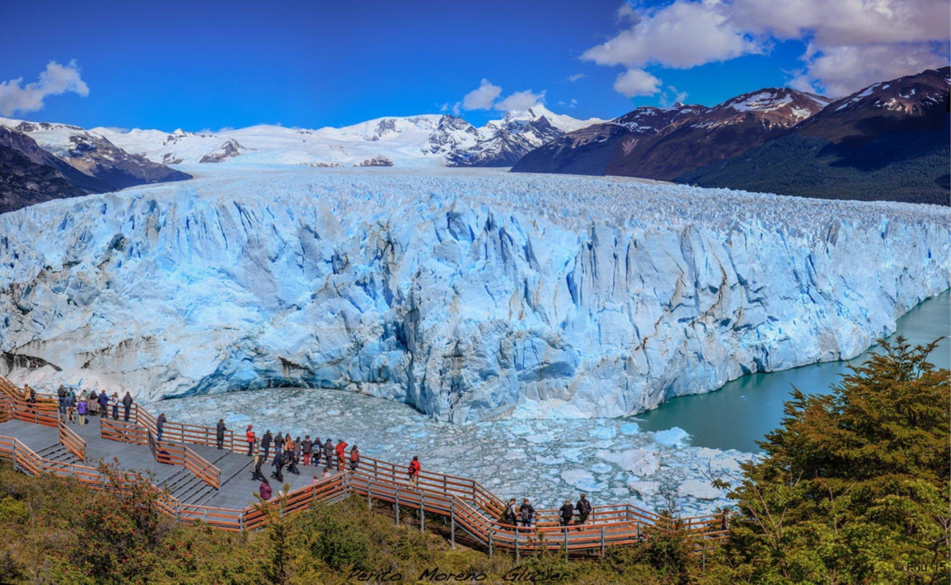 Best time for Perito Moreno Glacier in Argentina 2019