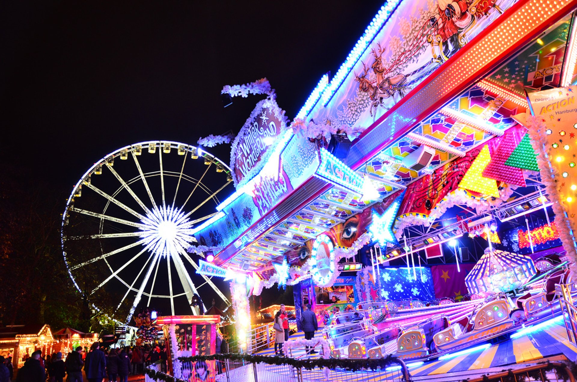 Hyde Park Winter Wonderland in London 2020 - Best Time