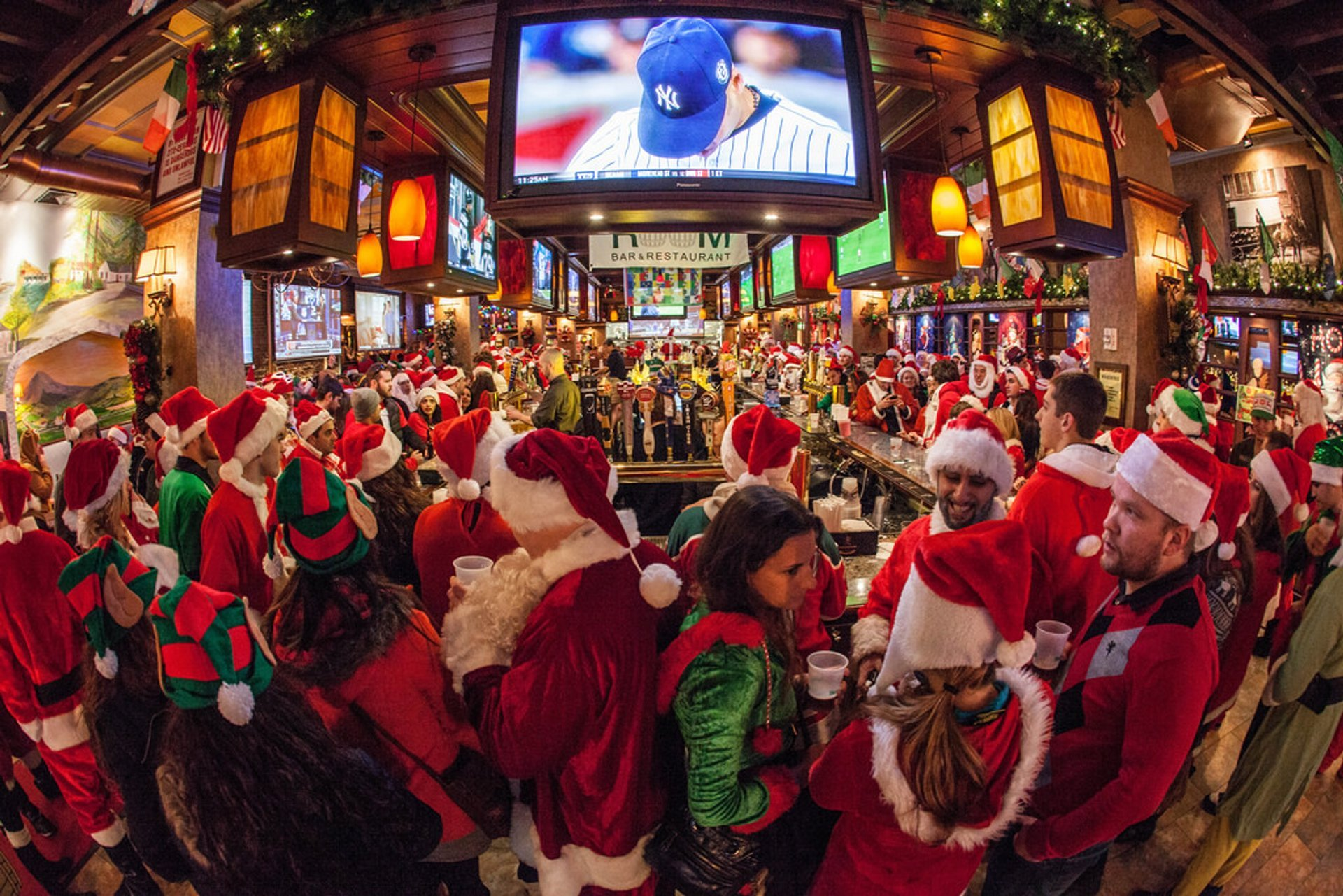 SantaCon in New York - Best Season 2020