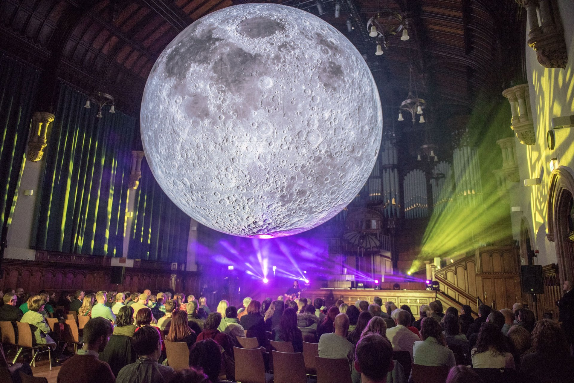 Moon Museum during Derry Halloween 2020