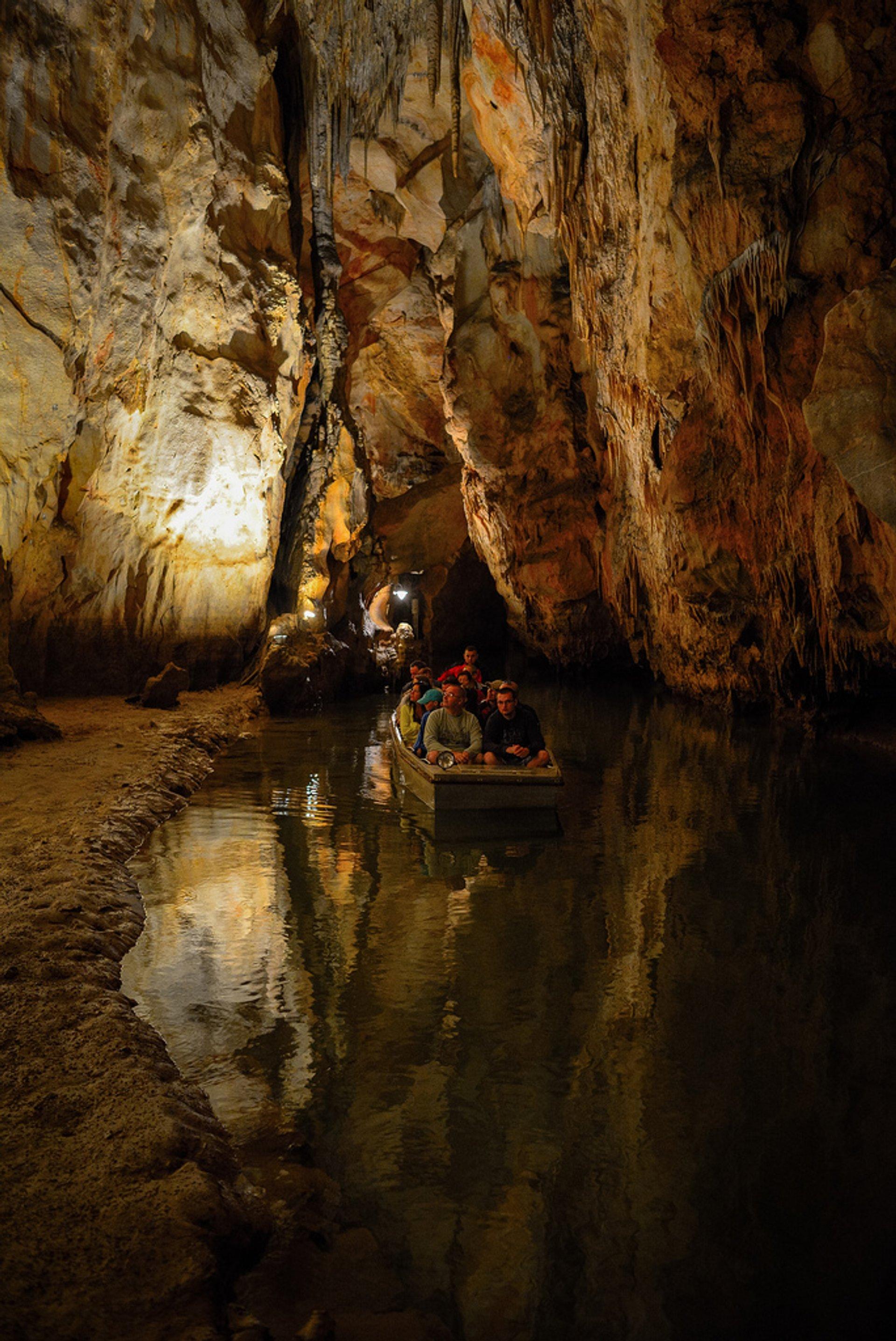 Boating in Domica Cave in Slovakia - Best Season 2019