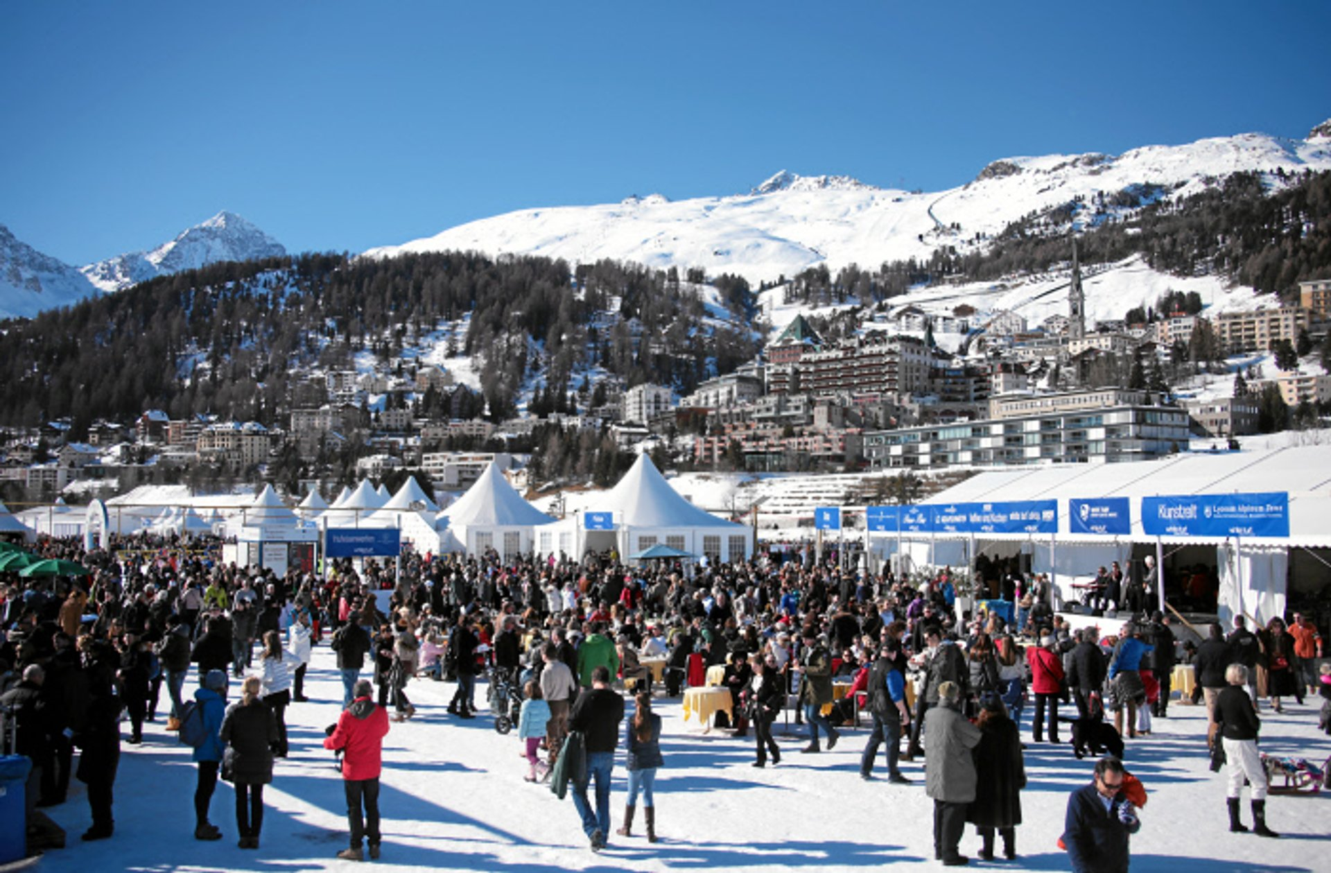 Best time for White Turf St. Moritz in Switzerland 2019