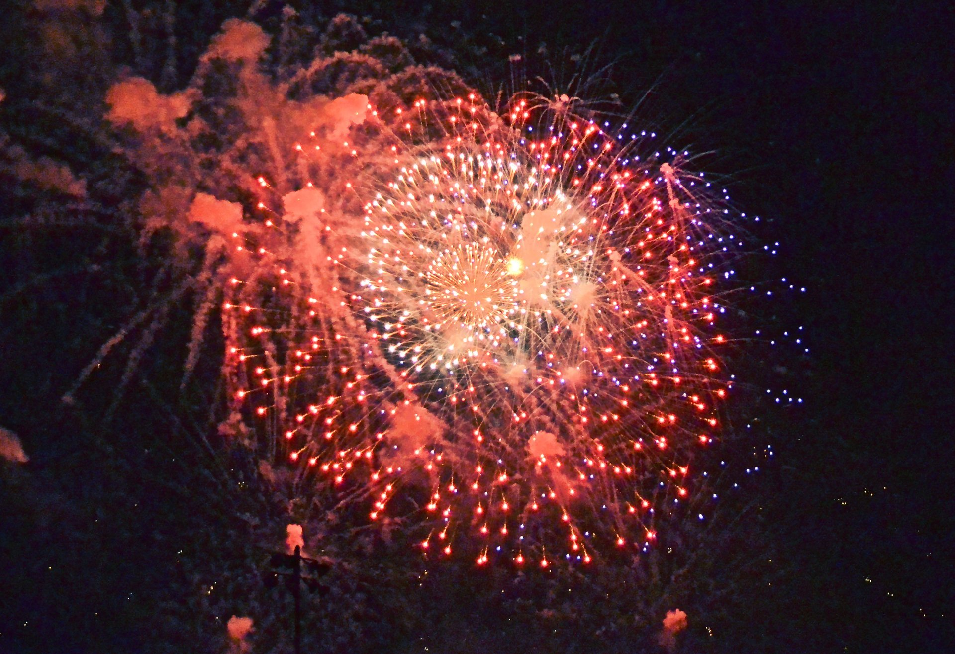 4th of July fireworks in Ocean City 2020