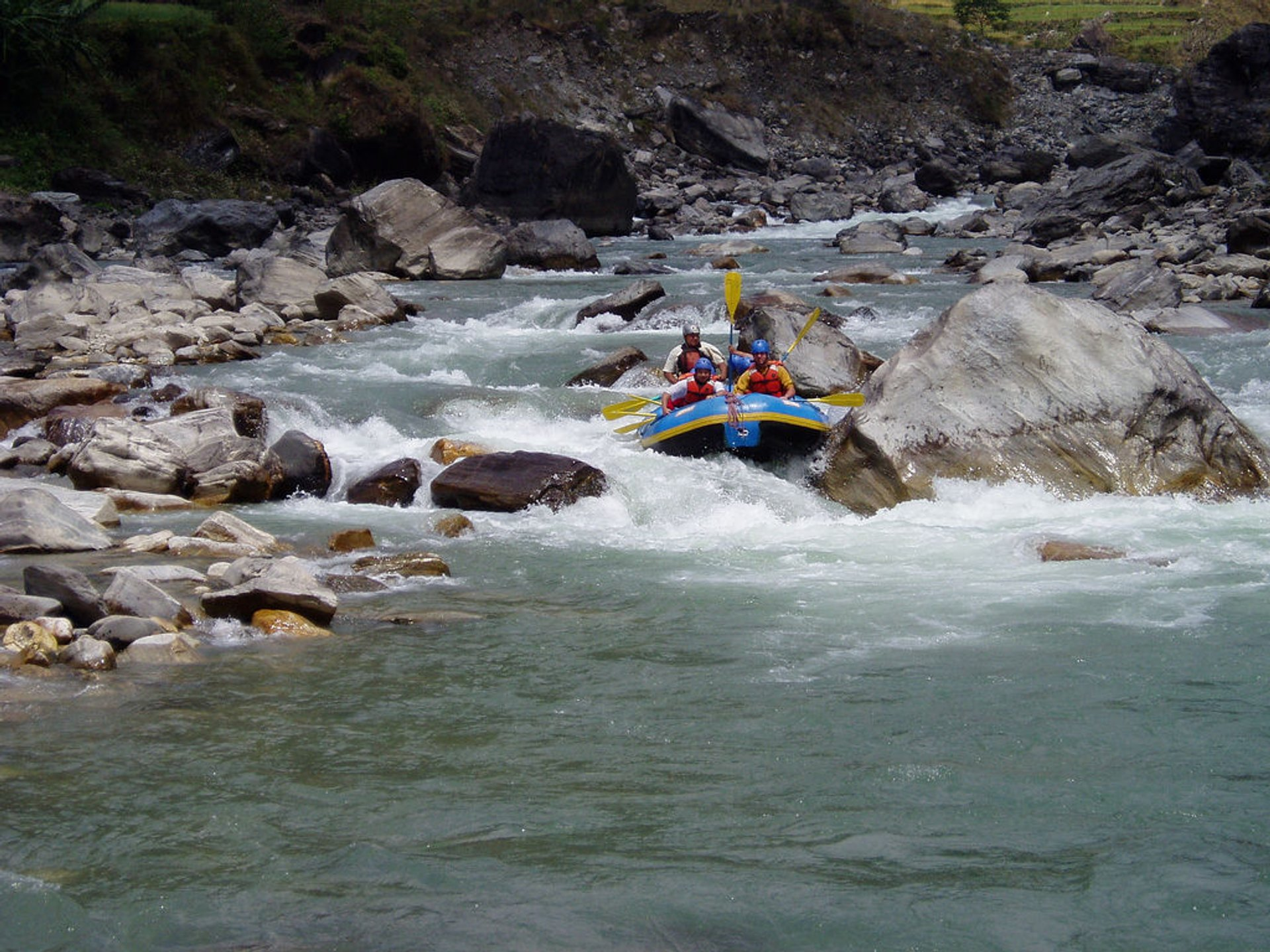 White Water Rafting and Kayaking Season in Nepal - Best Season 2020