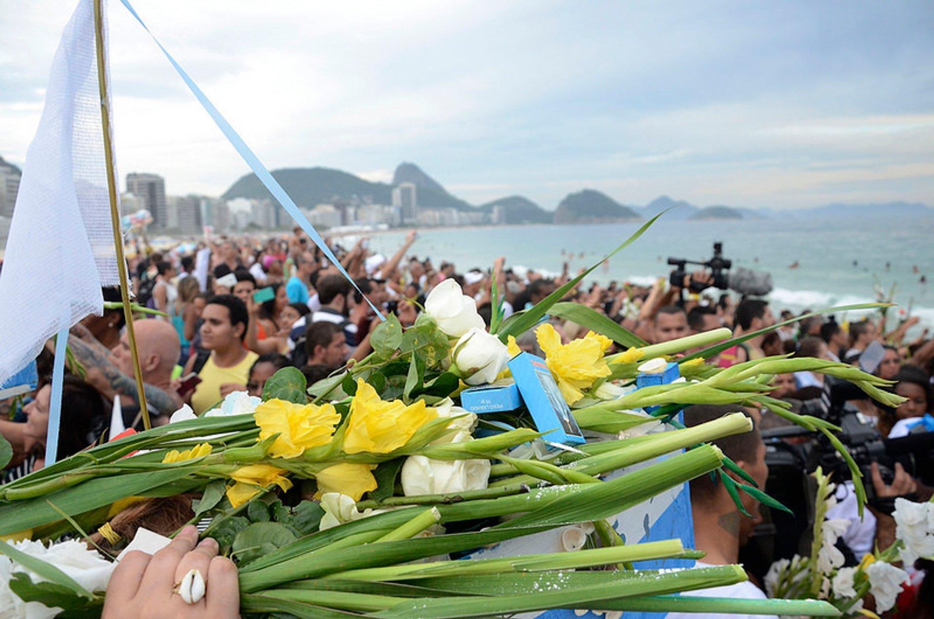 Best time to see Festa da Iemanjá in Rio de Janeiro 2020