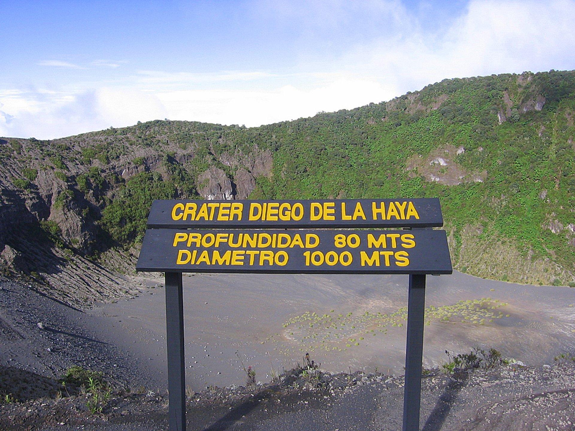 Best time for Irazu Volcano in Costa Rica 2020