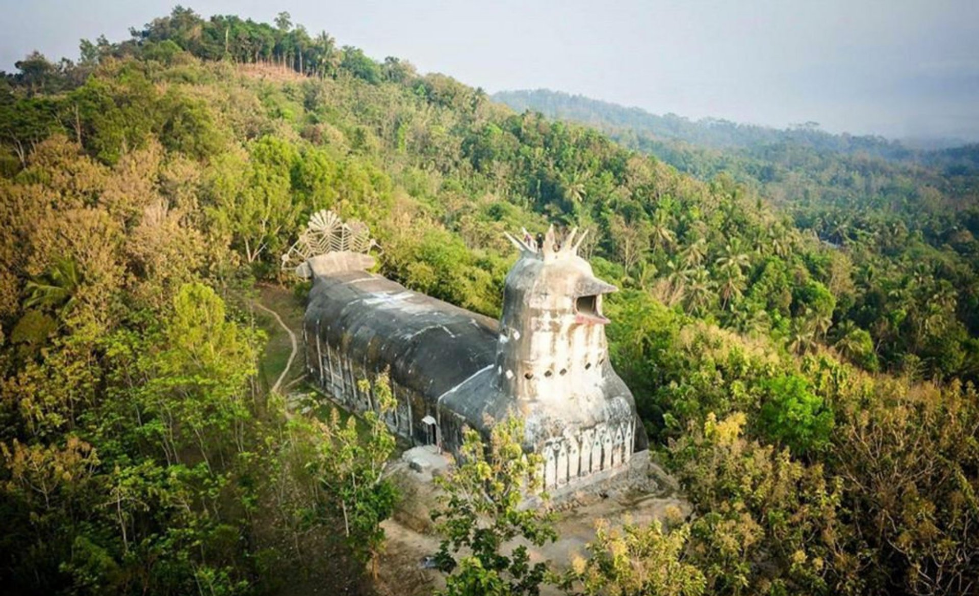 Gereja Ayam or Chicken Church in Java - Best Season 2020