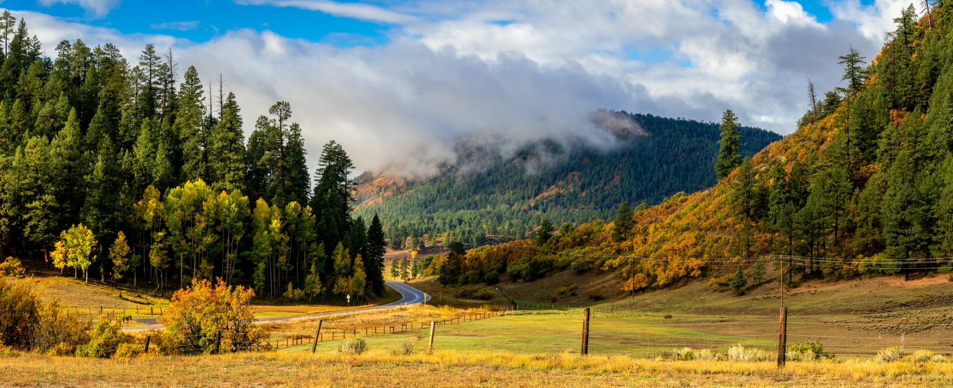 Fall colors in Chama 2020