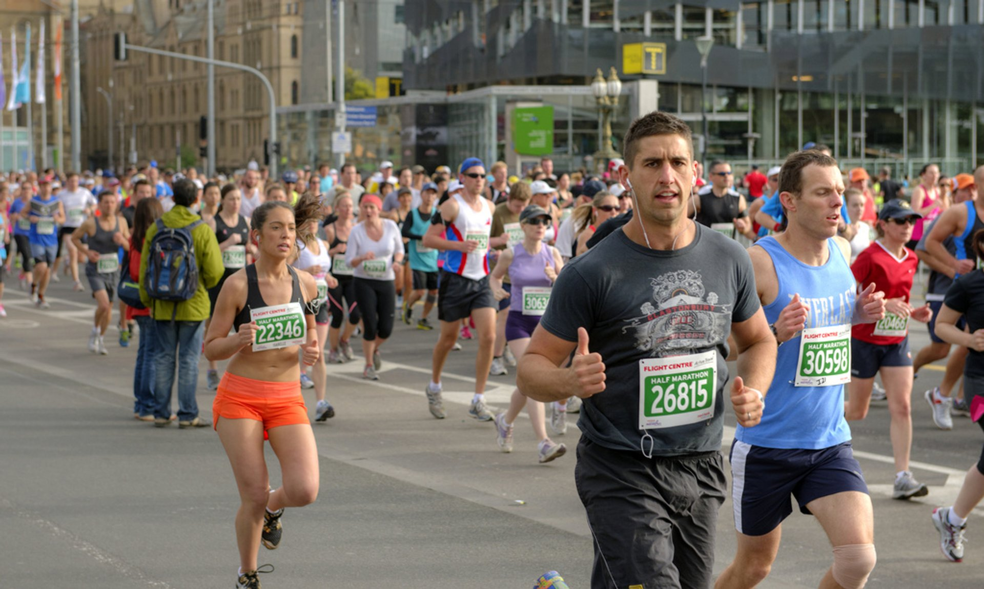 Best time for Melbourne Marathon Festival in Melbourne