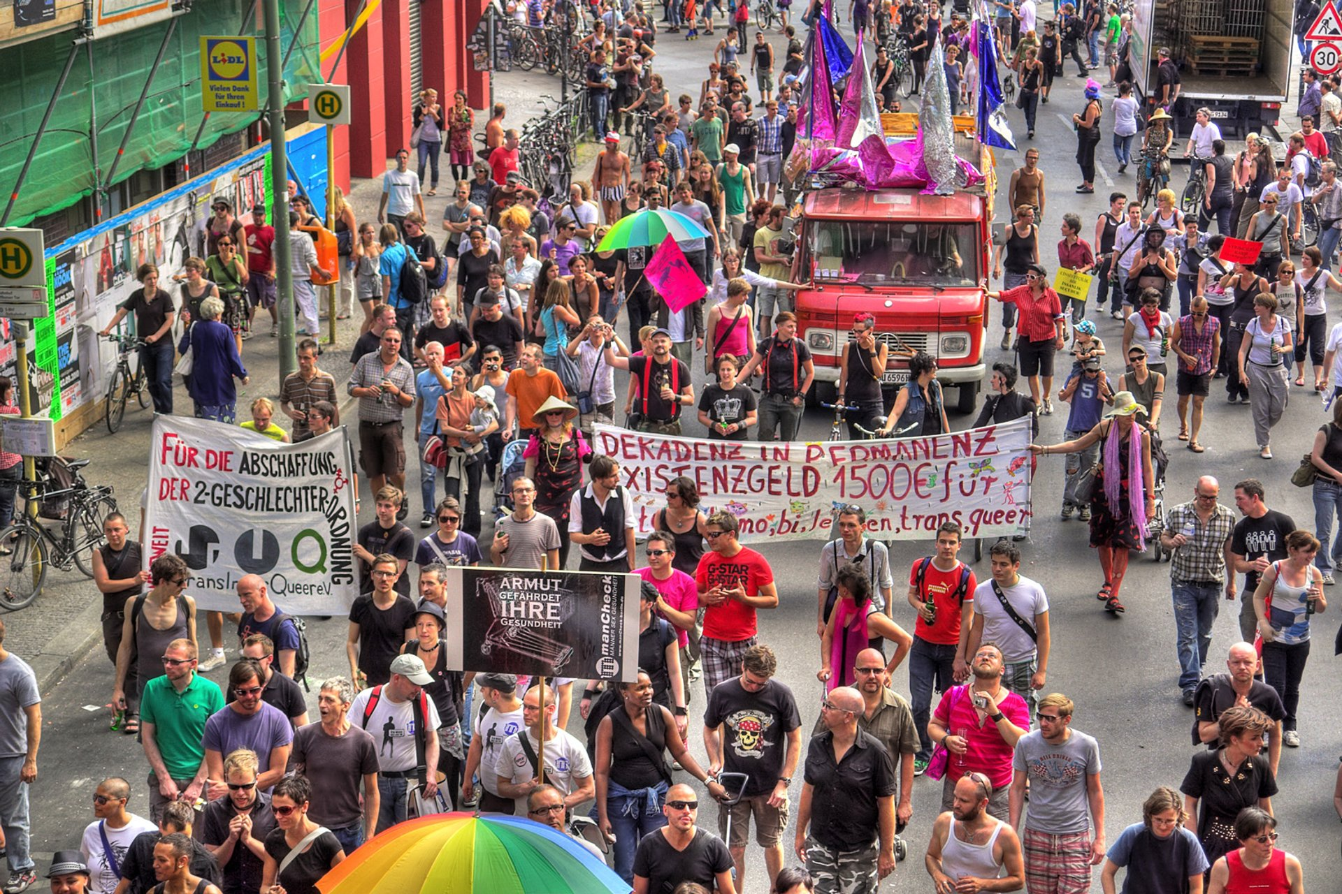 Best time for CSD Berlin or Berlin Pride in Berlin 2020